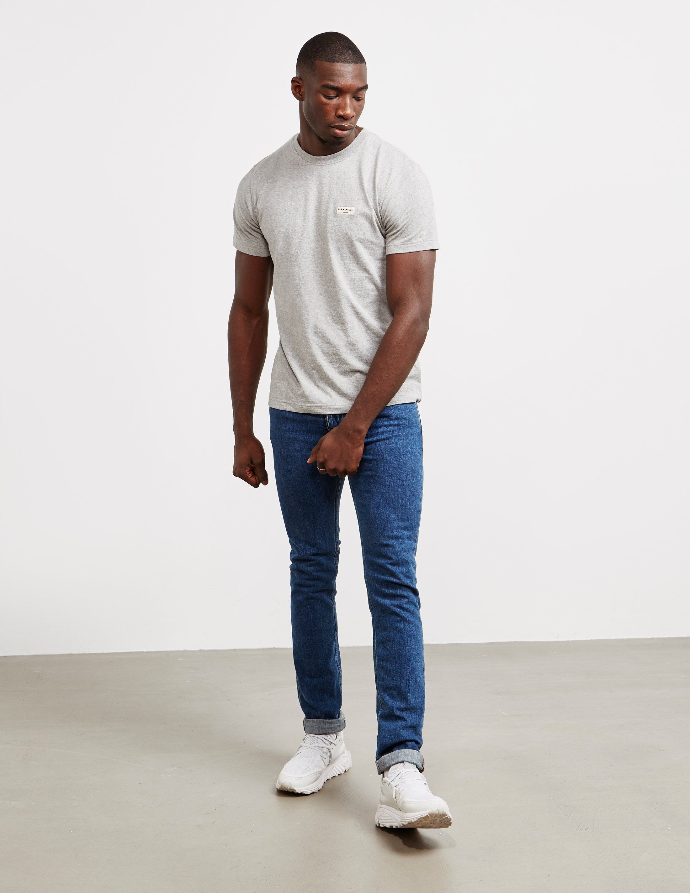 Nudie Jeans Daniel Logo Short Sleeve T-Shirt