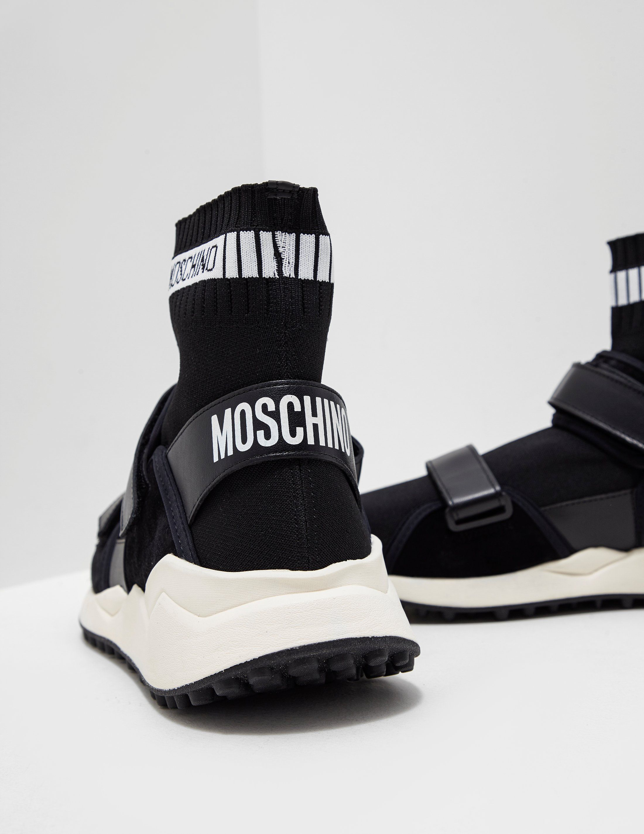 Moschino Sock Ankle Trainers