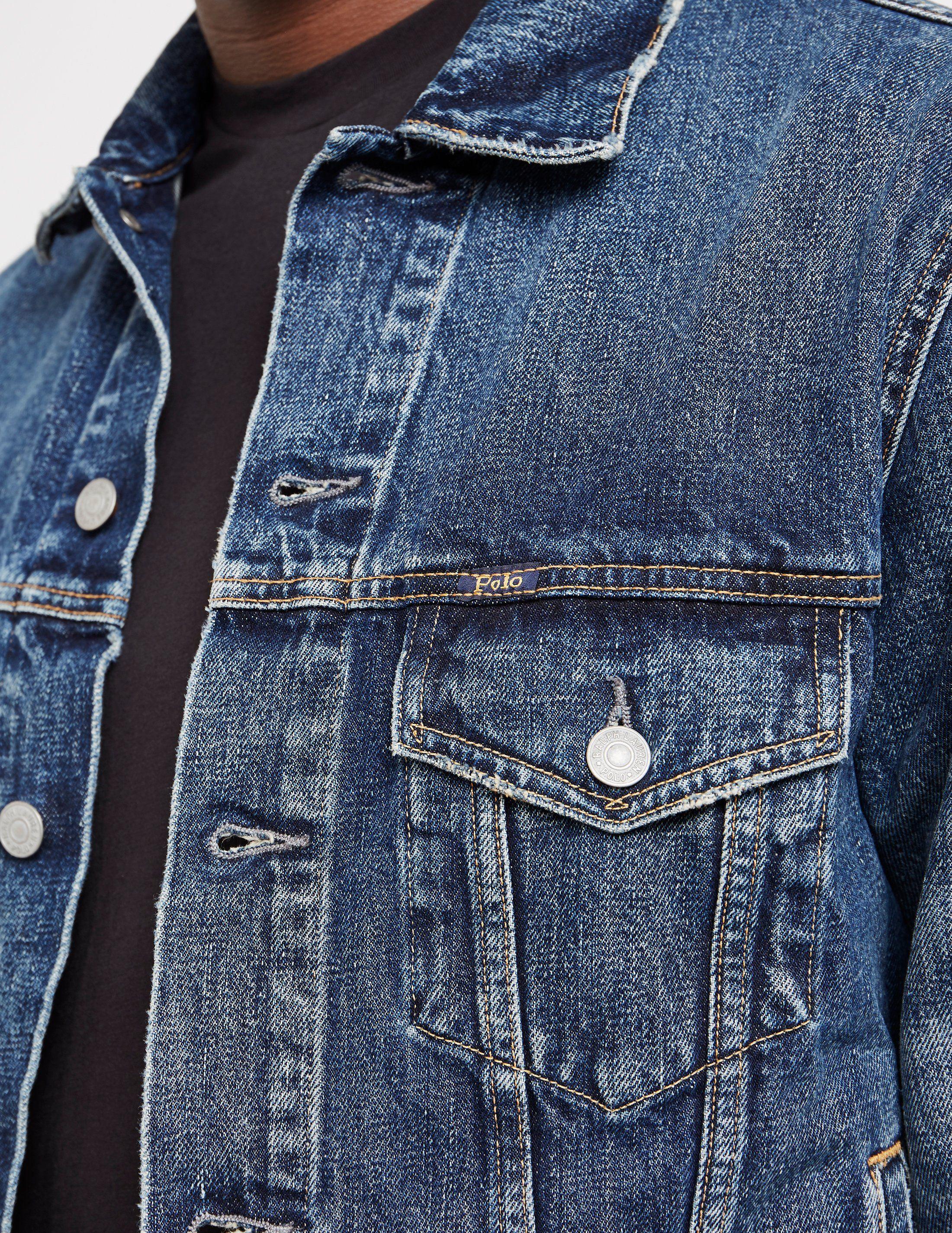 Polo Ralph Lauren Denim Trucker Jacket - Online Exclusive