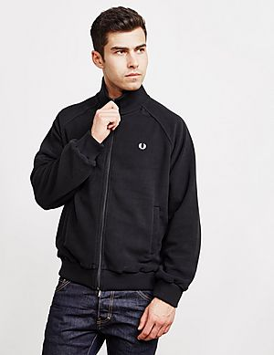 Fred Perry Polar Fleece Full Zip Track Top ... a679f6478