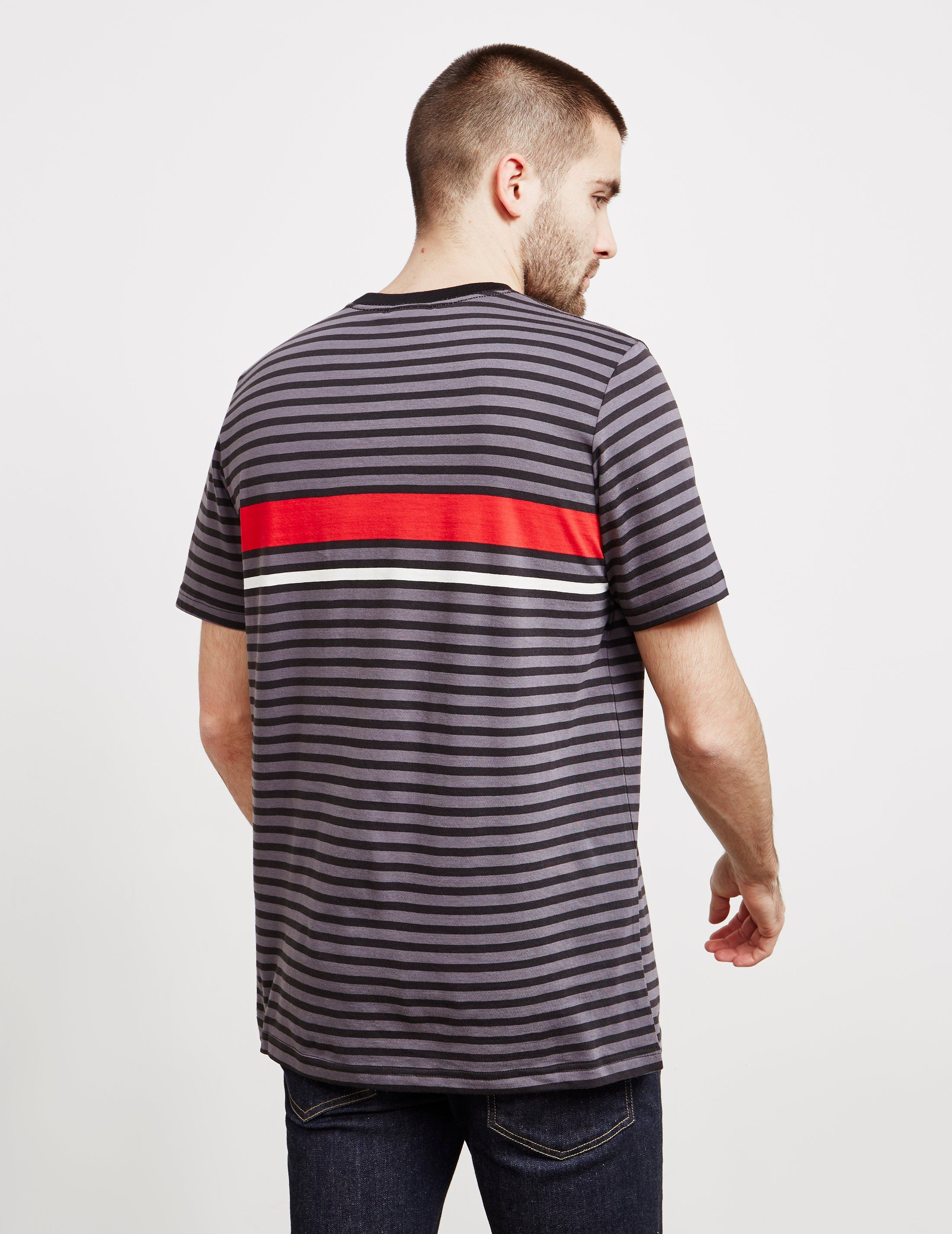 PS Paul Smith Stripe Logo Short Sleeve T-Shirt