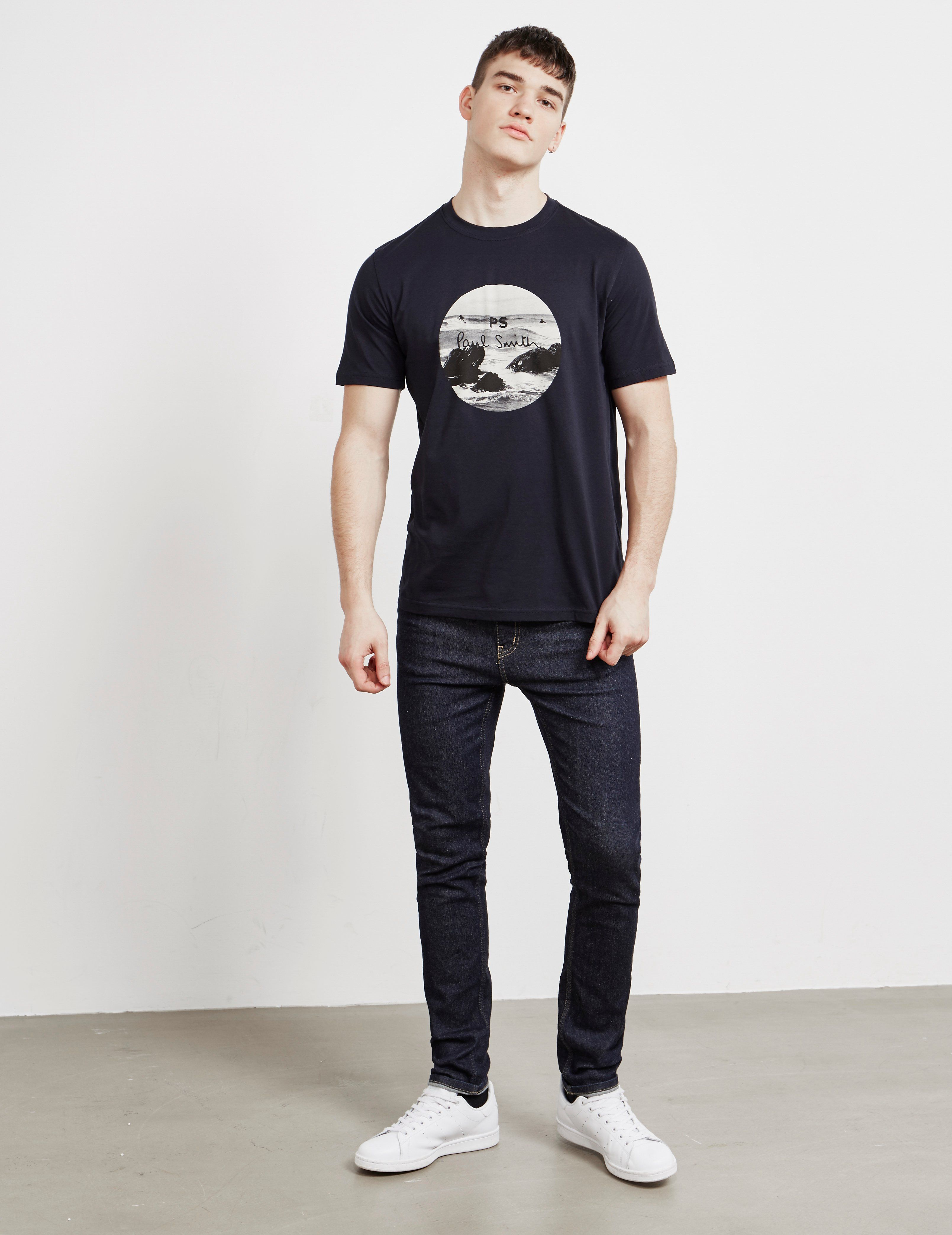 PS Paul Smith Rocks Short Sleeve T-Shirt