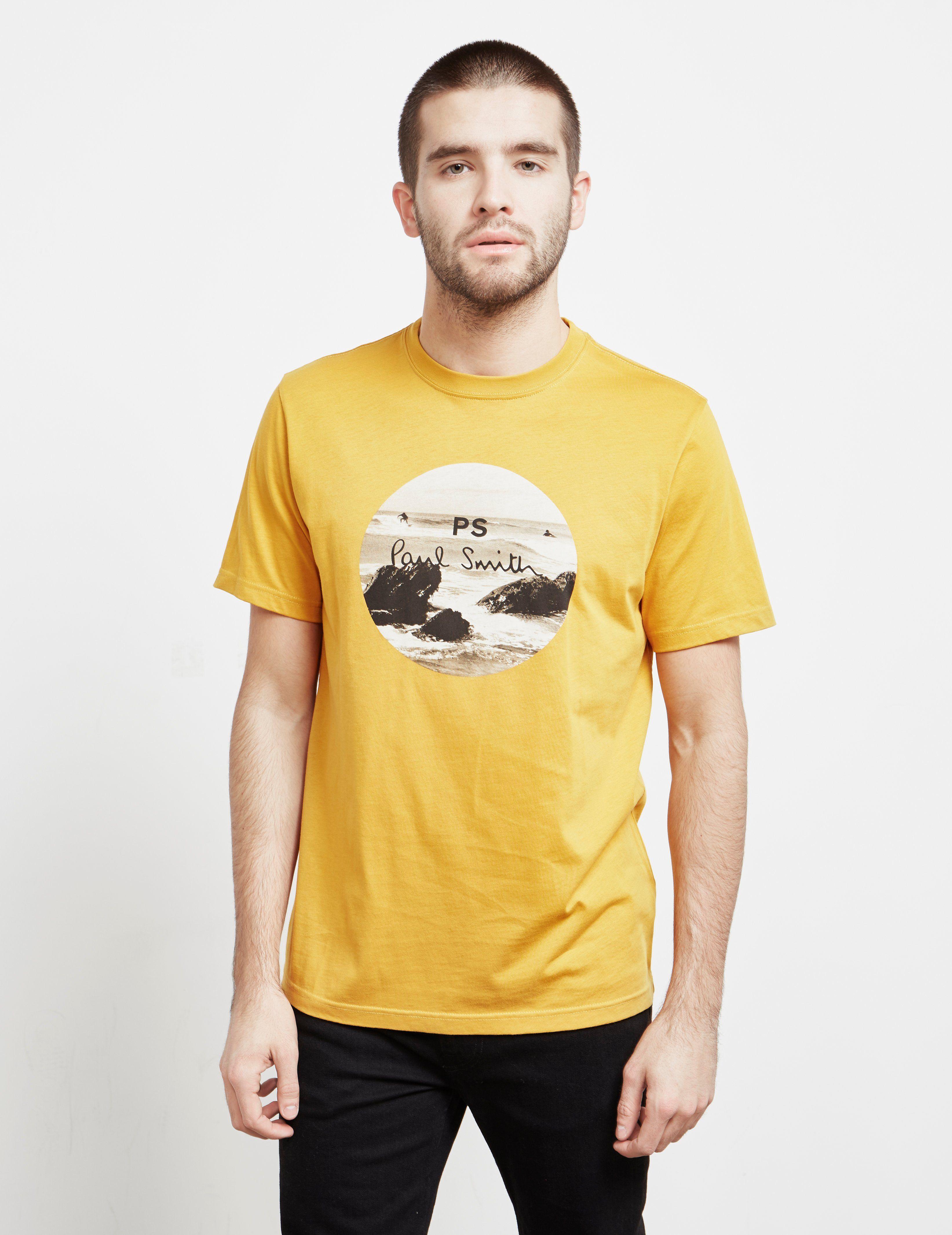 PS Paul Smith Rocks Short Sleeve T-Shirt