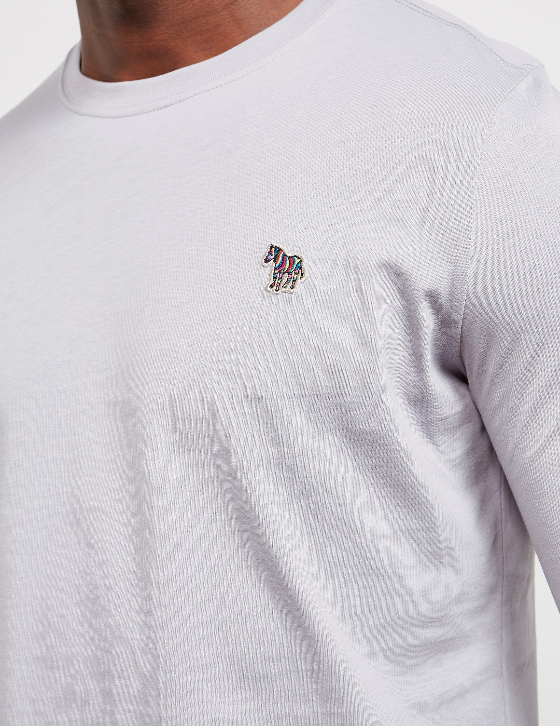 PS Paul Smith Basic Zebra Long Sleeve T-Shirt