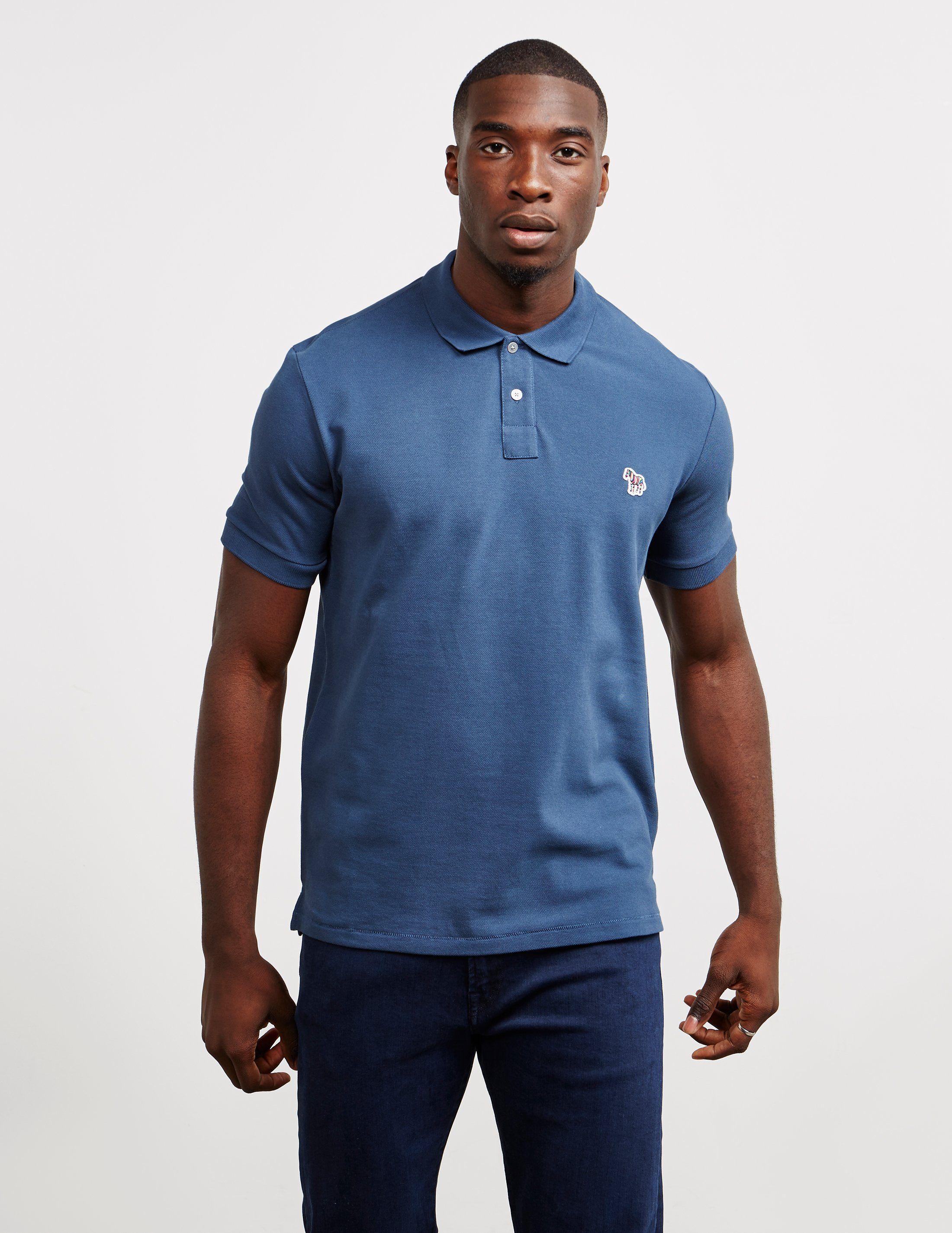 PS Paul Smith Zebra Short Sleeve Polo Shirt