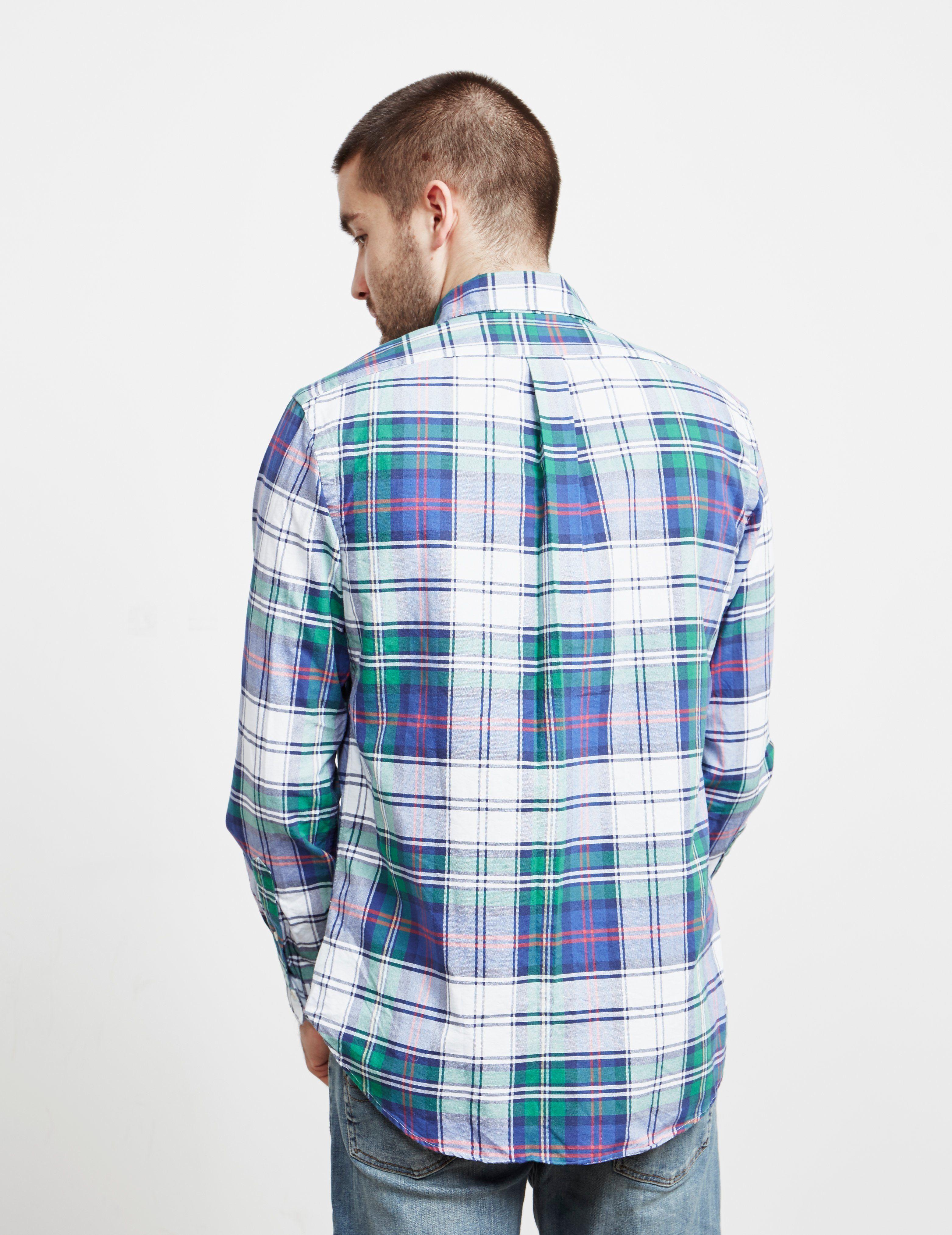 Polo Ralph Lauren Checked Long Sleeve Oxford Shirt