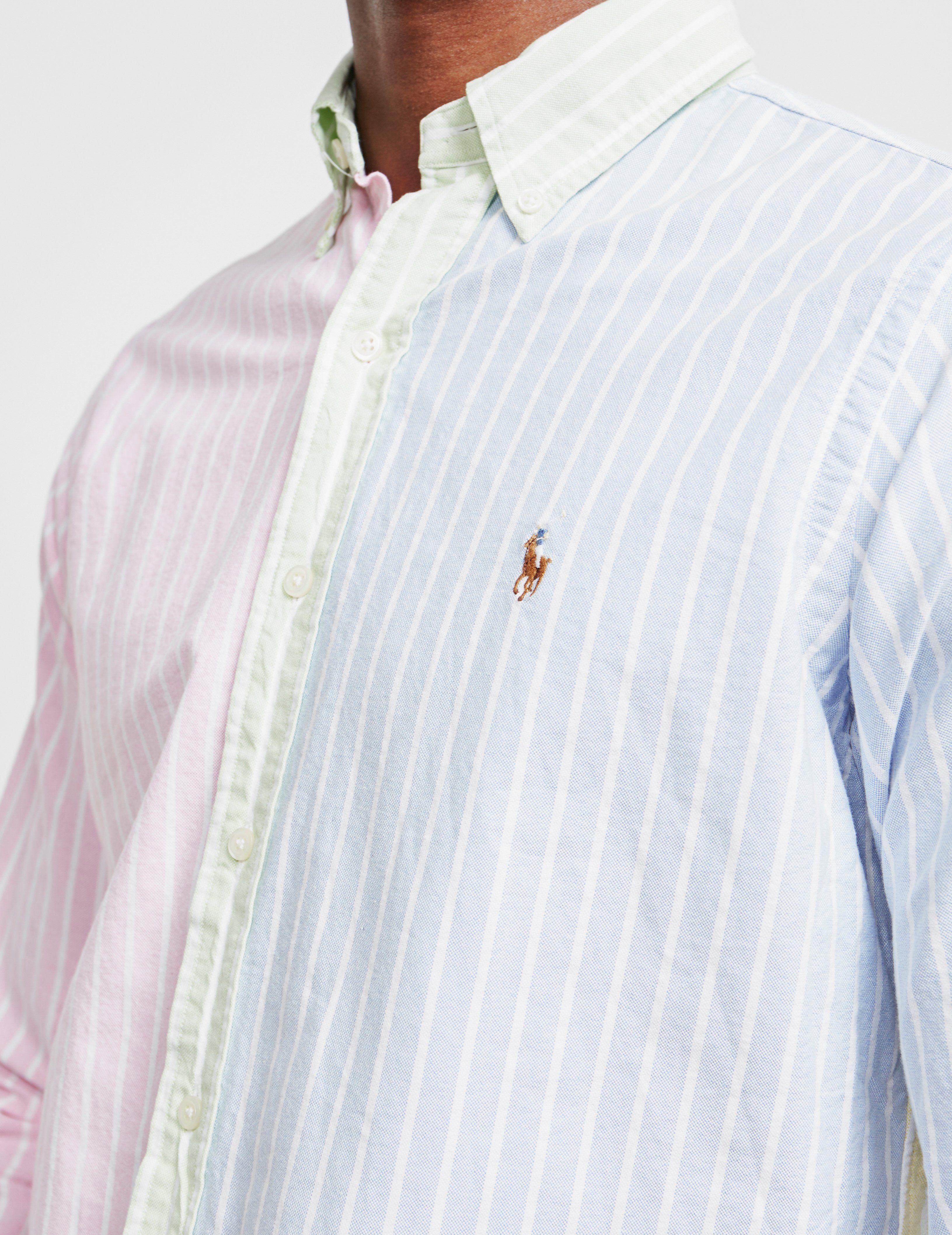 Polo Ralph Lauren Multi Stripe Long Sleeve Oxford Shirt