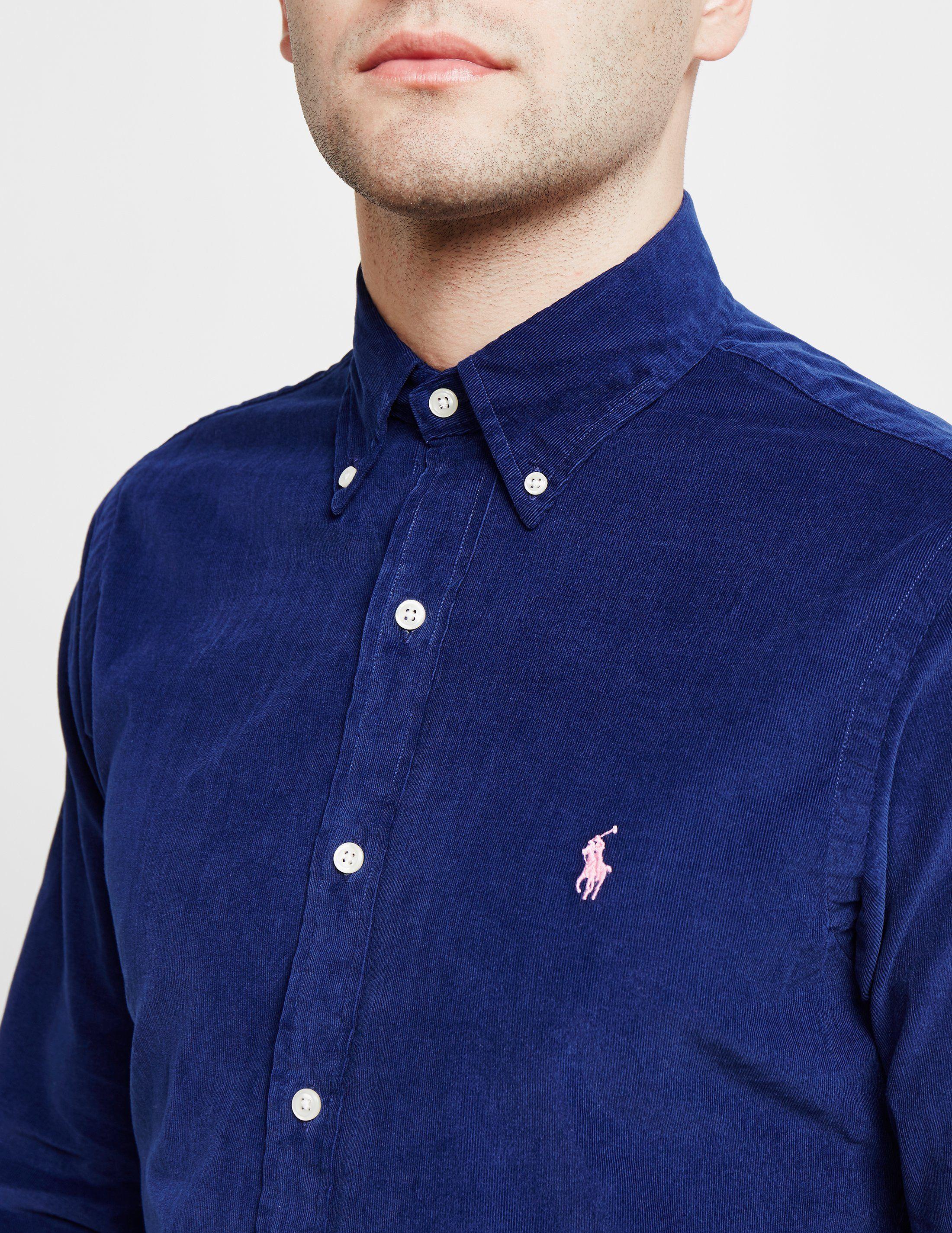 Polo Ralph Lauren Mini Cord Long Sleeve Shirt