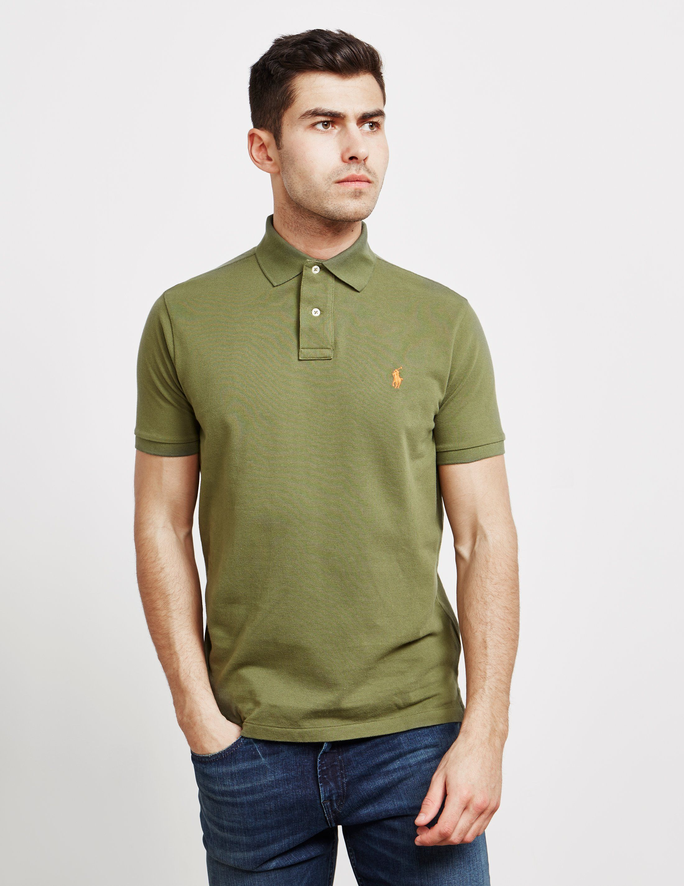 Polo Ralph Lauren Mesh Short Sleeve Polo Shirt