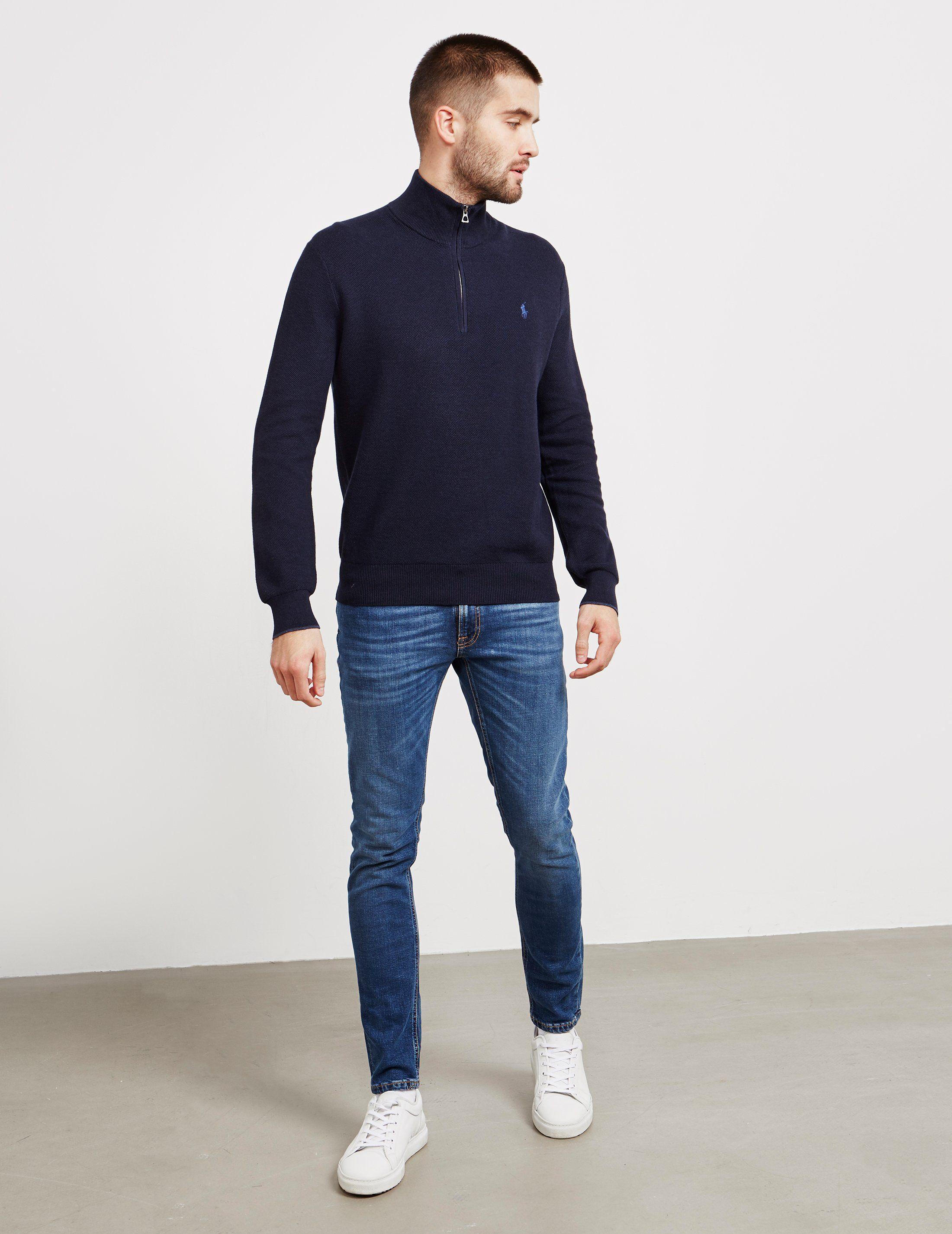 Polo Ralph Lauren Half Zip Knit Jumper