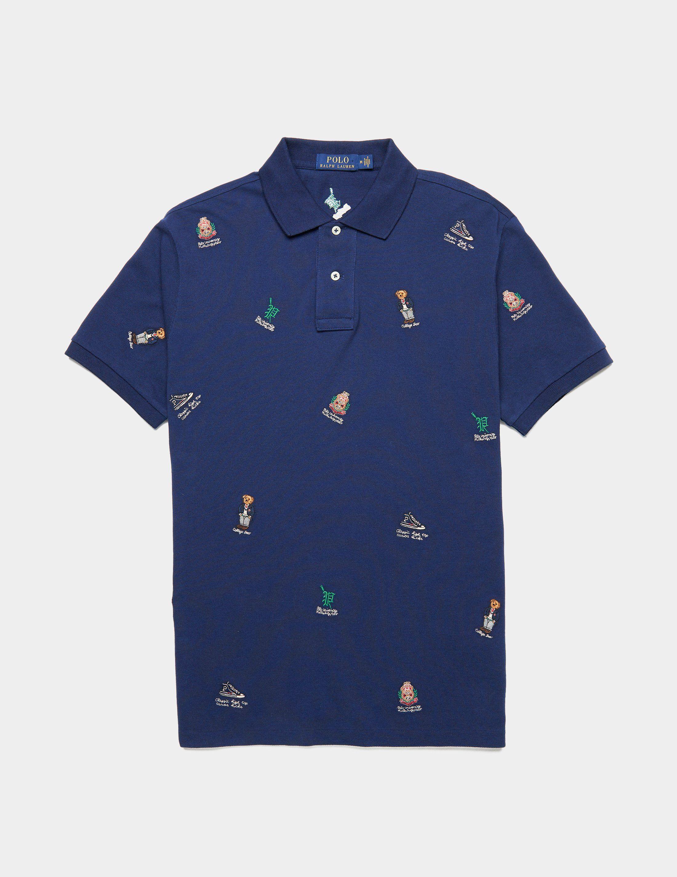 Polo Ralph Lauren Collage Short Sleeve Polo Shirt
