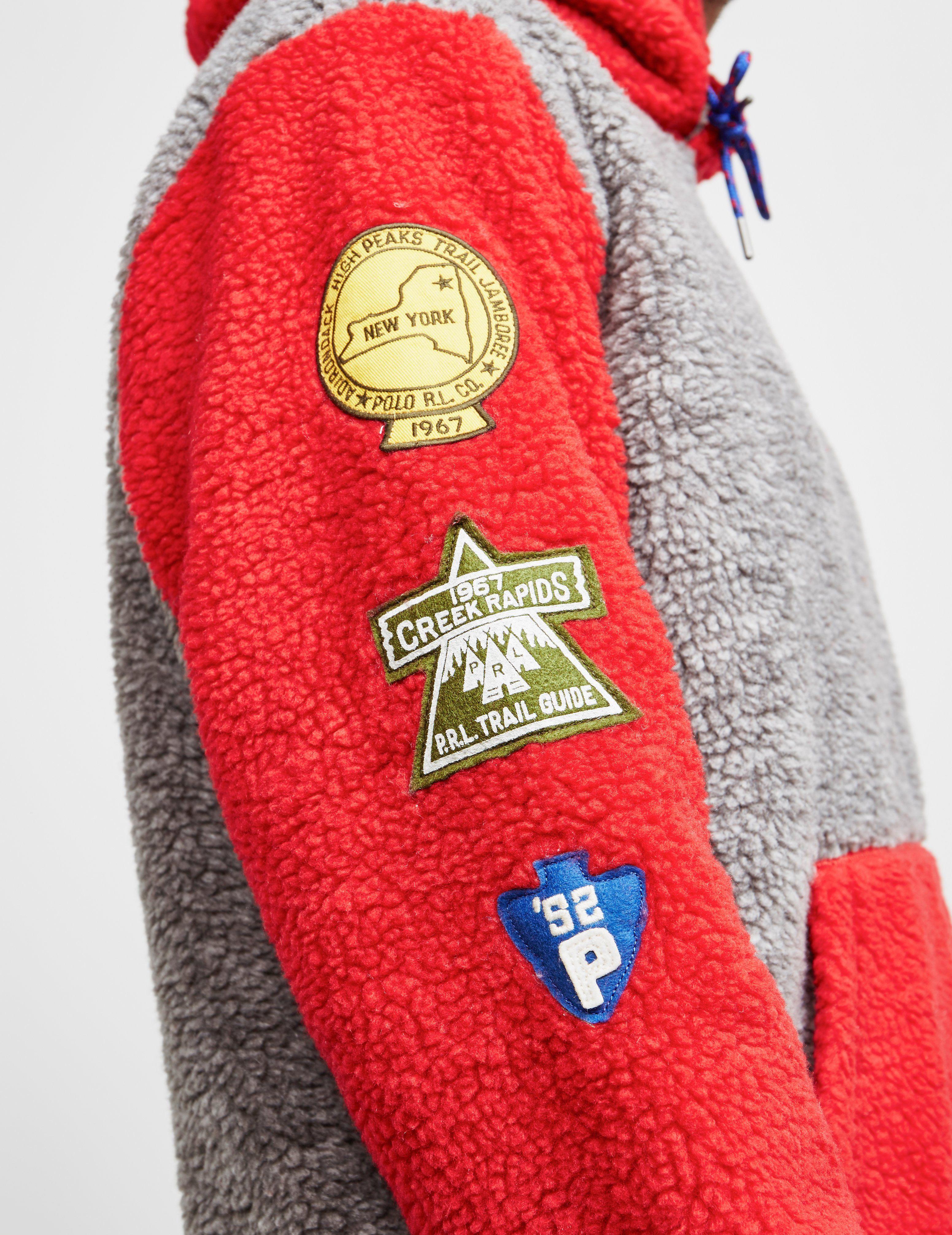 Polo Ralph Lauren Vintage Sherpa Hoodie