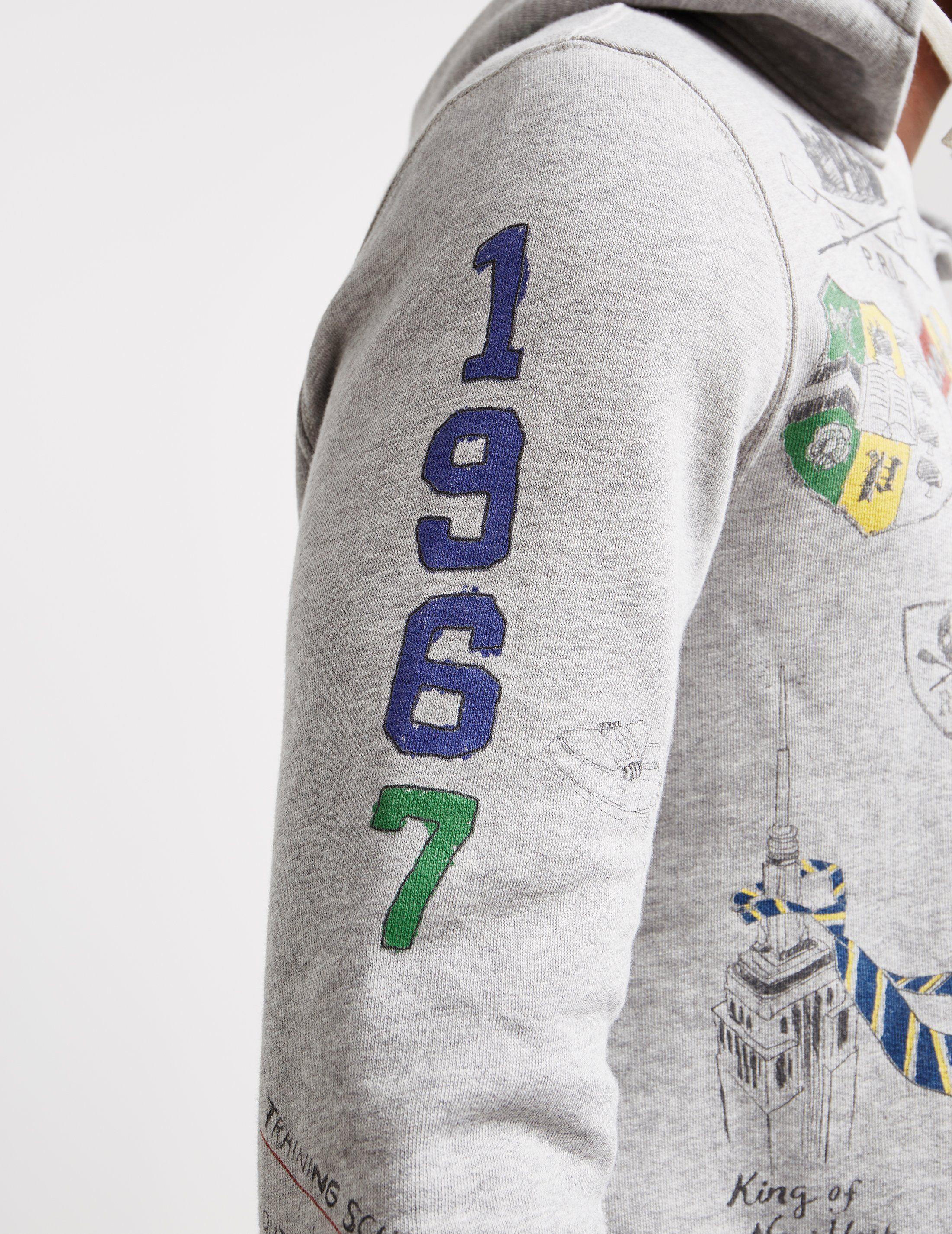 Polo Ralph Lauren Vintage Doodle Hoodie