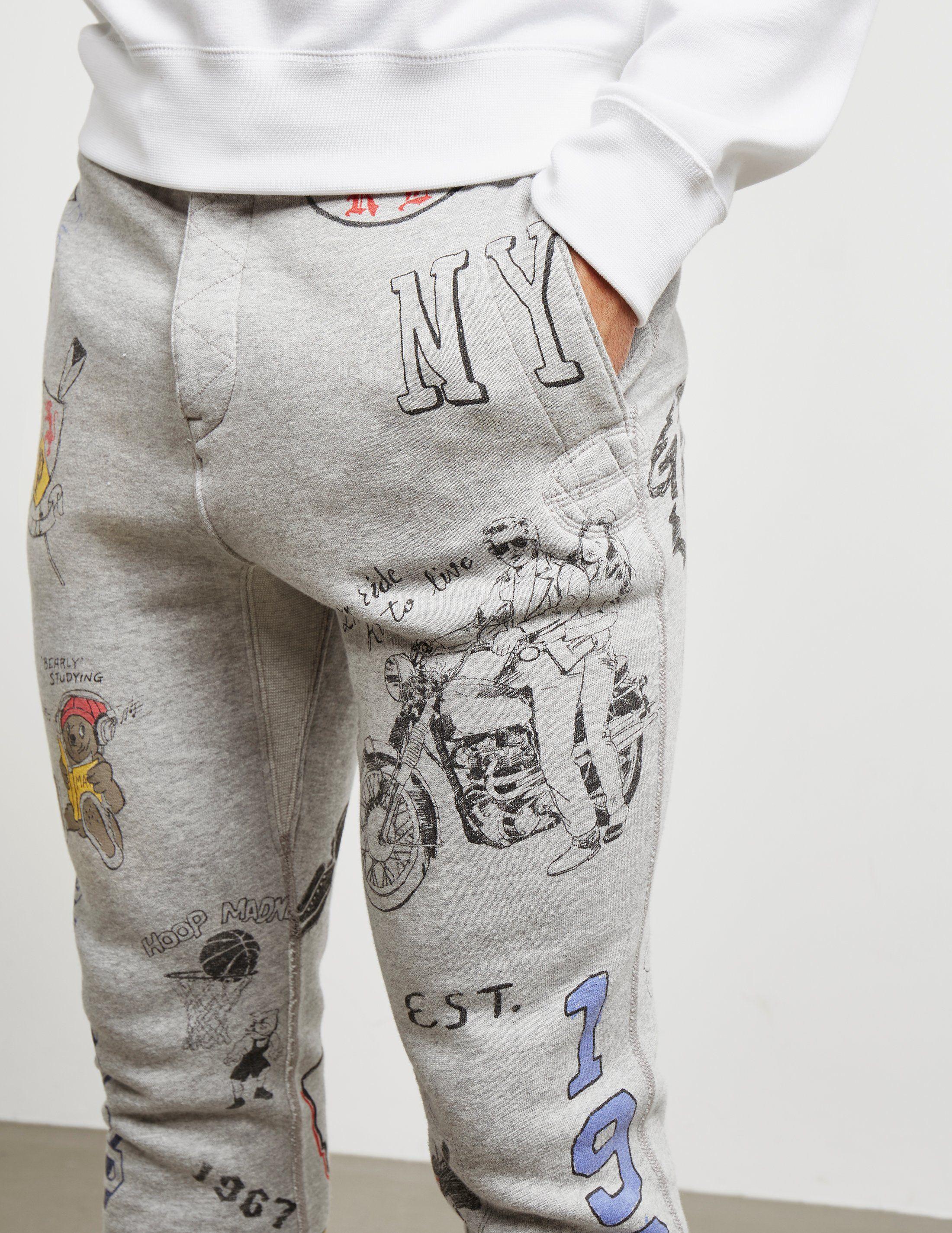 Polo Ralph Lauren Vintage Doodle Track Pants
