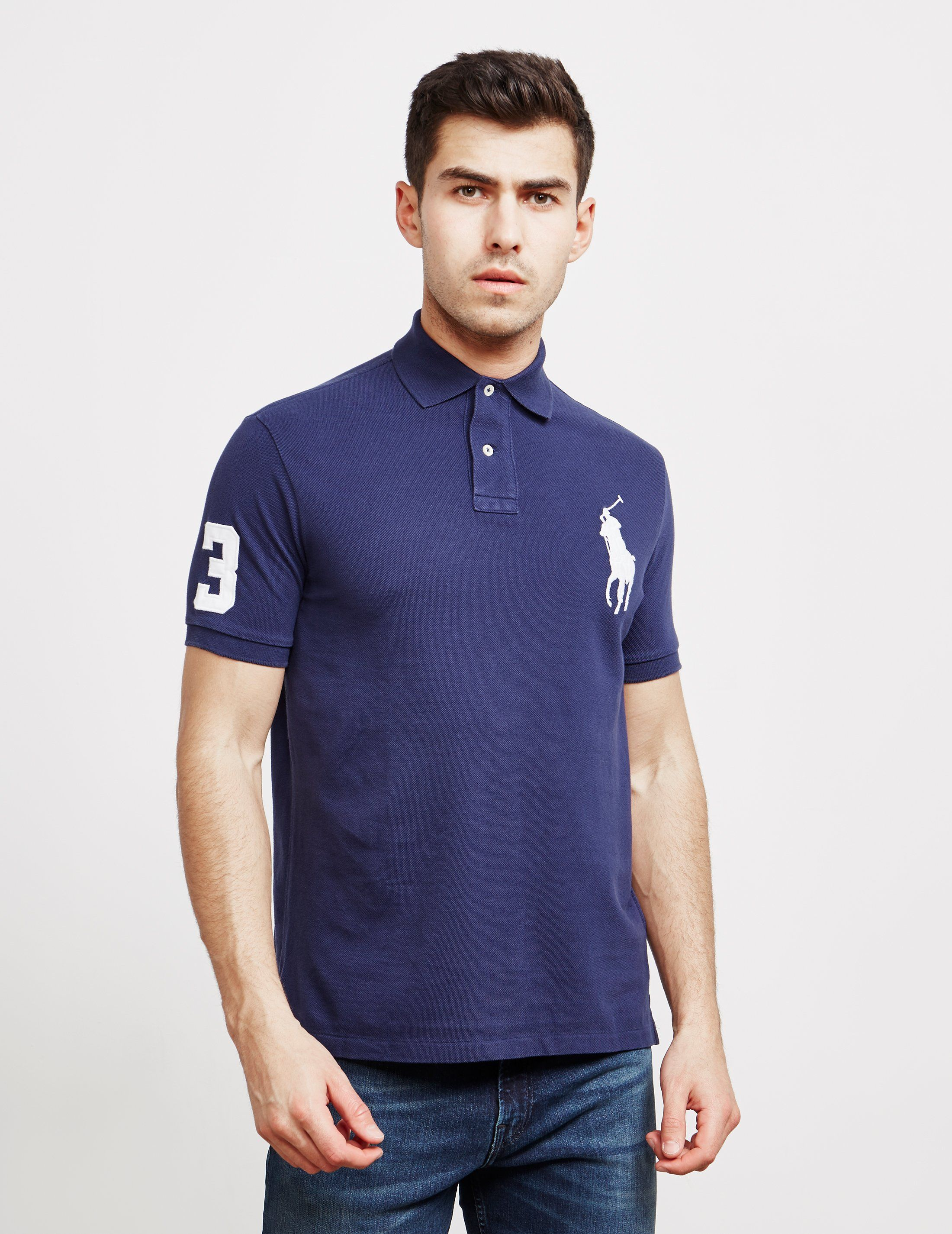 Polo Ralph Lauren Large Embroidered Logo Short Sleeve Polo Shirt