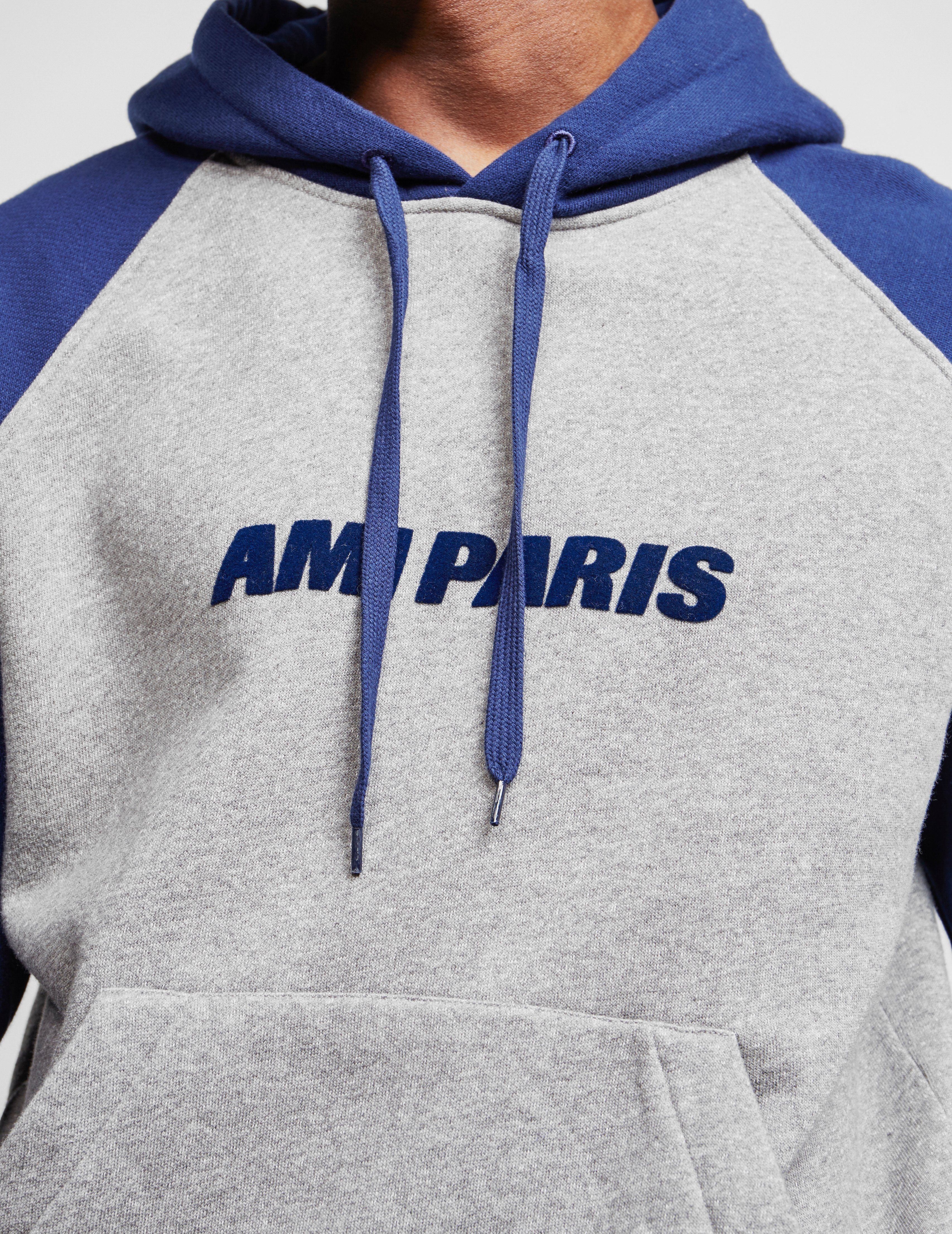 AMI Paris Raglan Hoodie