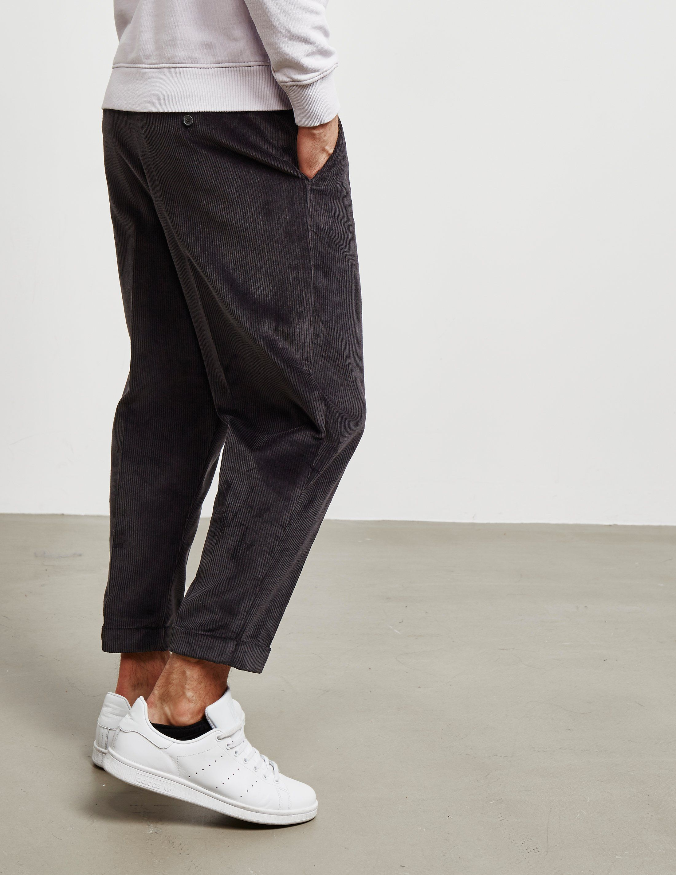 AMI Paris Cord Carrot Trousers