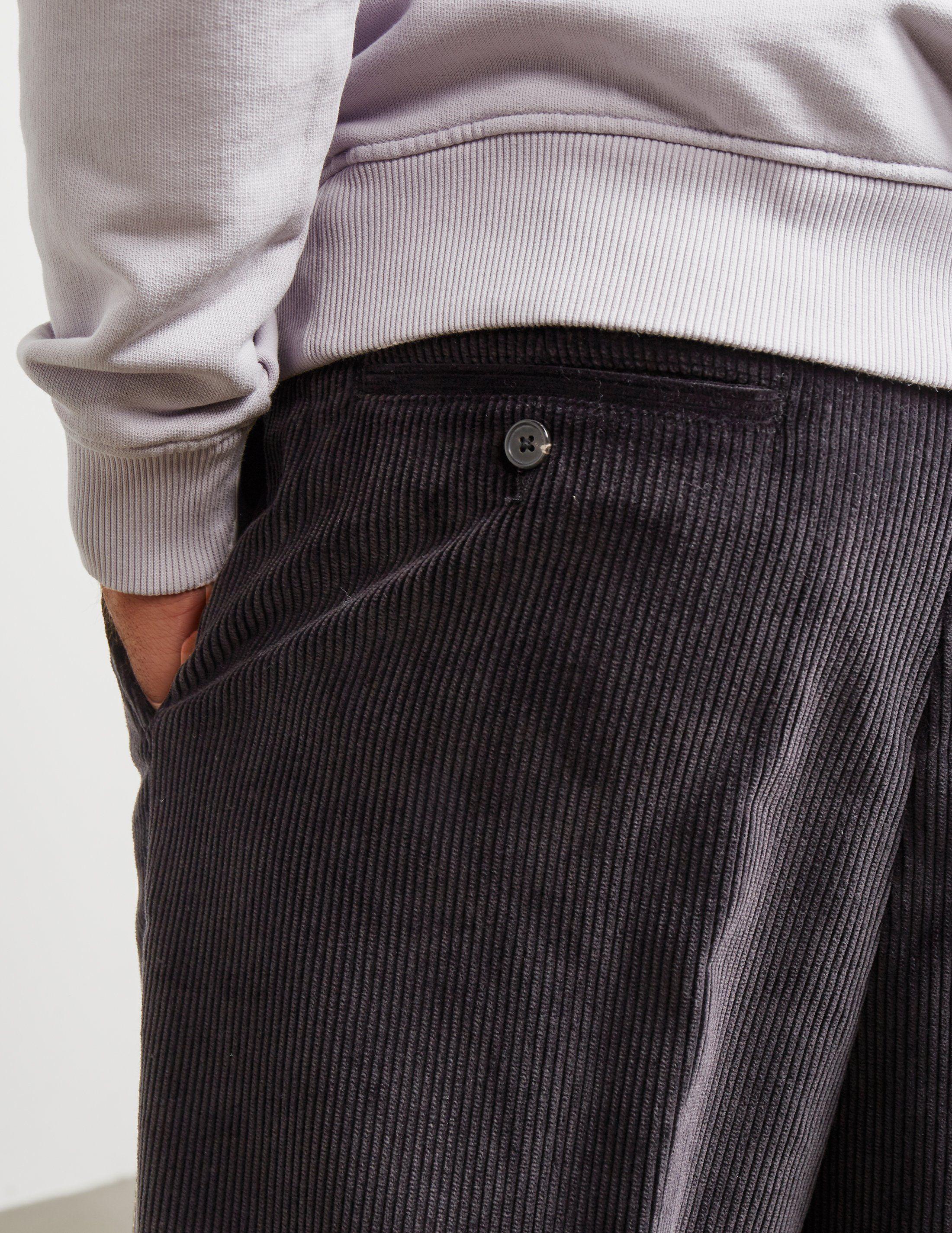 AMI Paris Cord Carrot Trousers - Online Exclusive