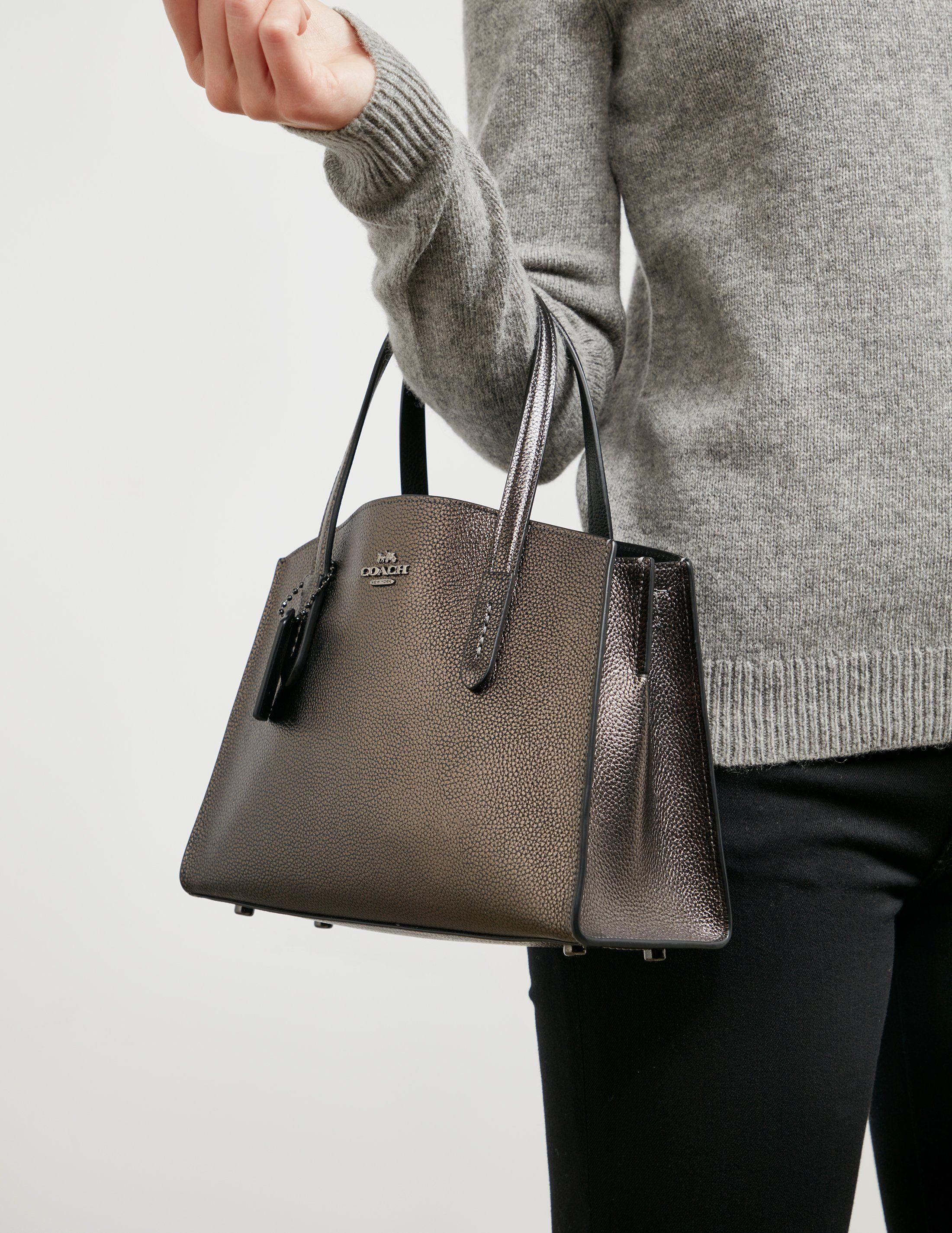 COACH Metallic Handbag