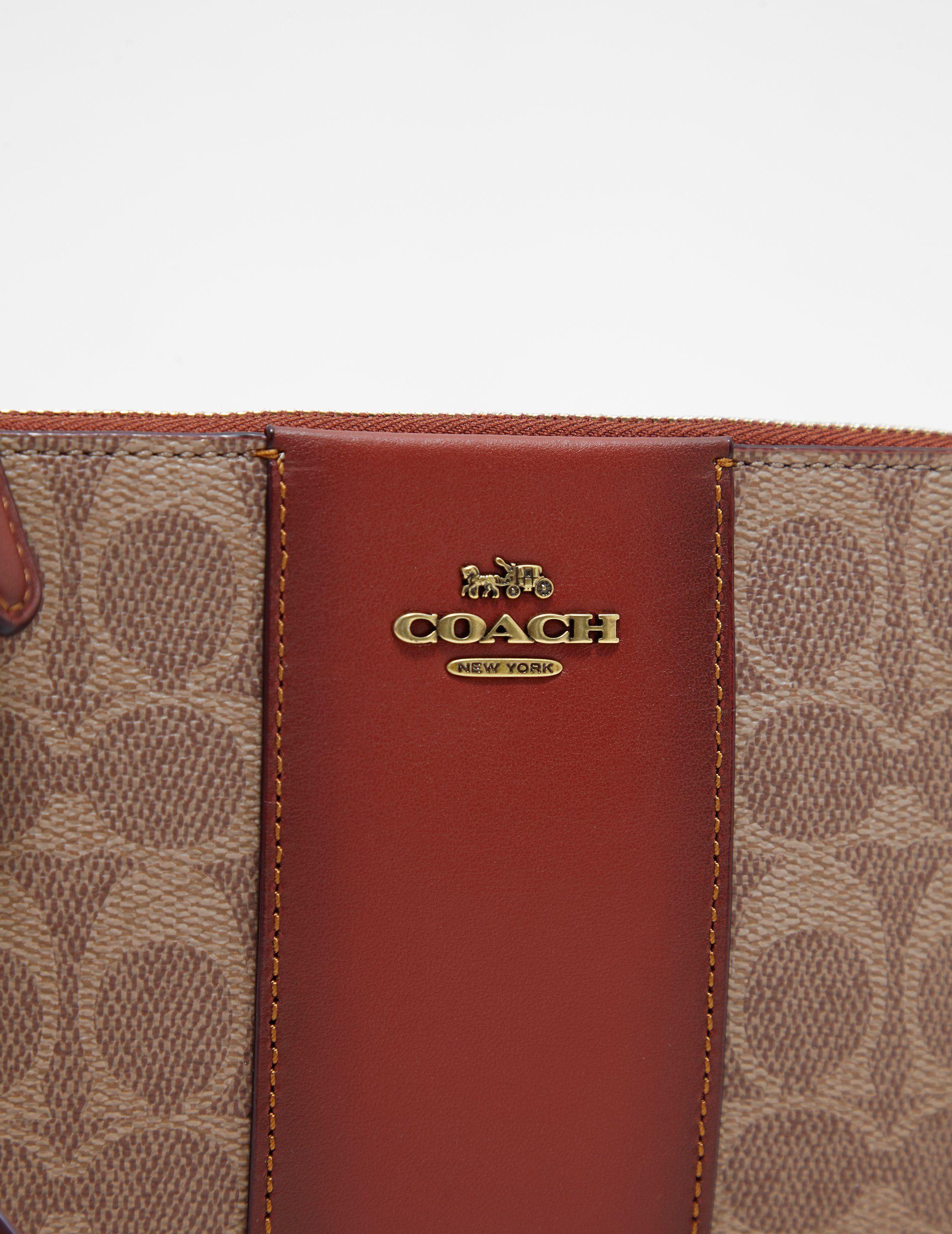 COACH Signature Wristlet