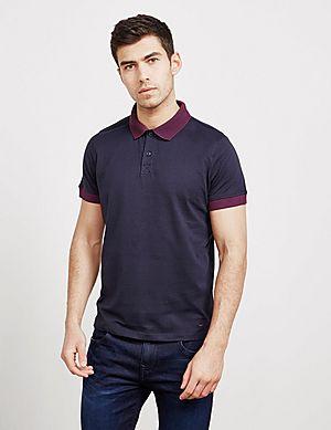 BOSS Contrast Collar Short Sleeve Polo Shirt e1b1d09a73
