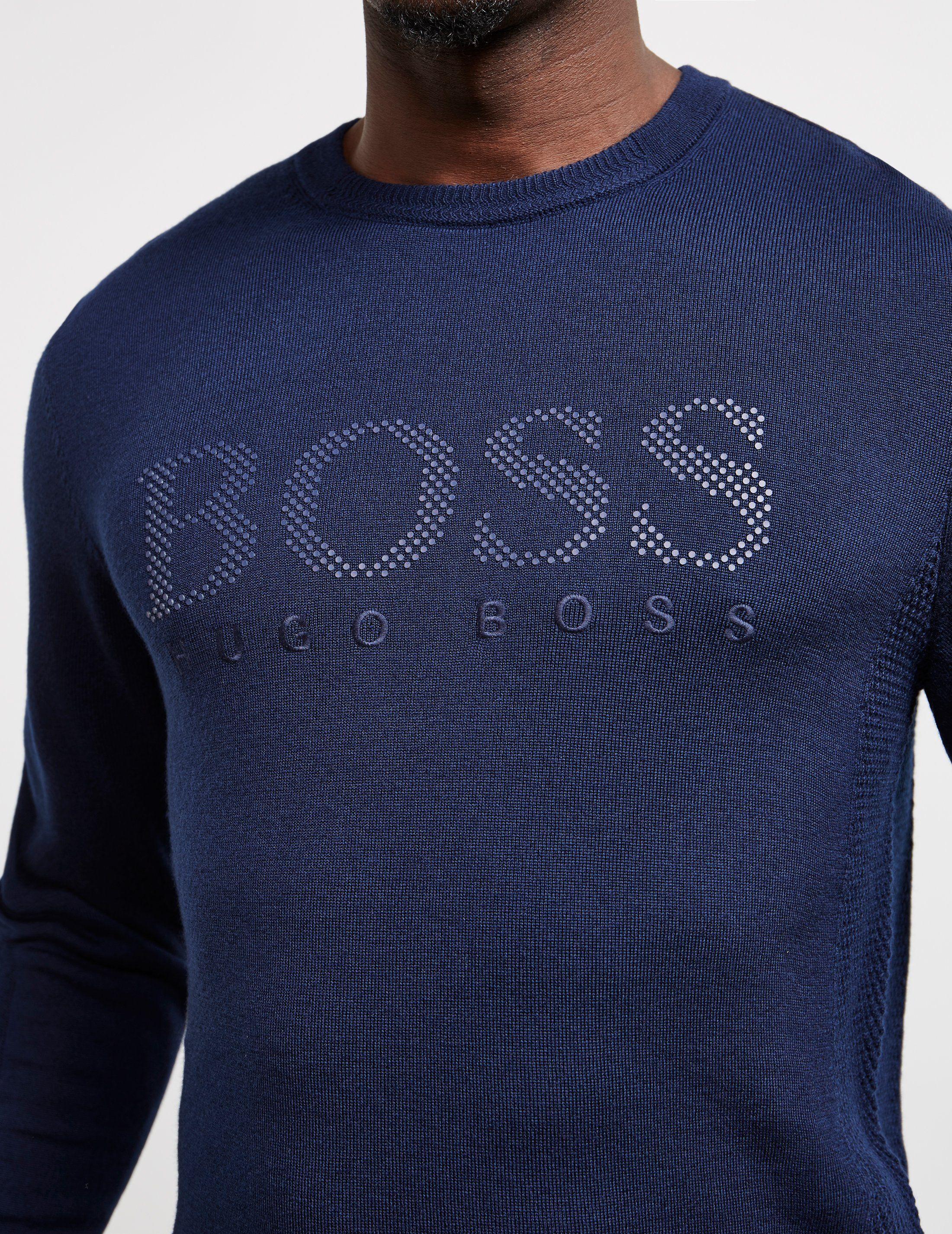 BOSS Logo Knit Jumper
