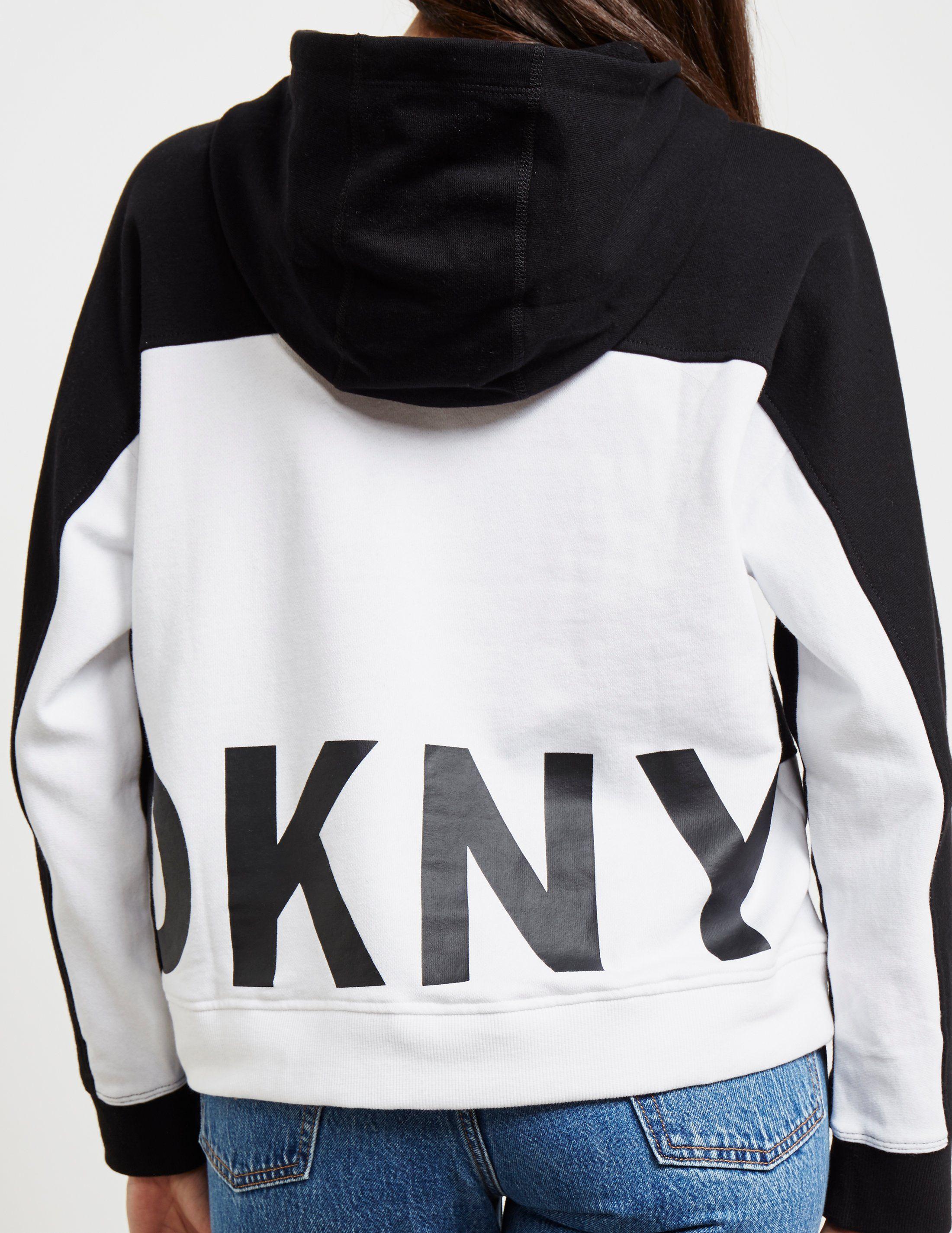 DKNY Colour Block Hoodie