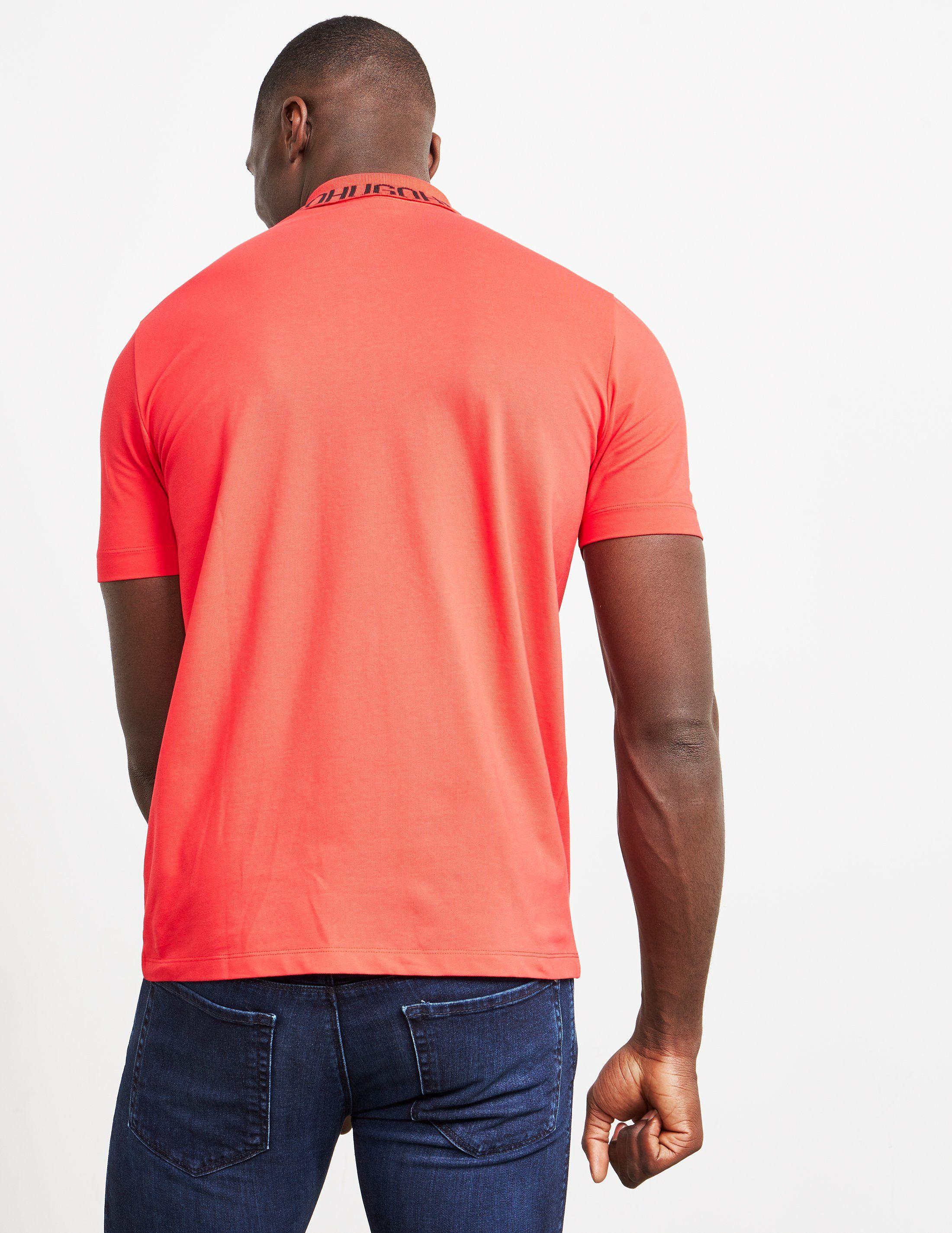 HUGO Dewayne Short Sleeve Polo Shirt