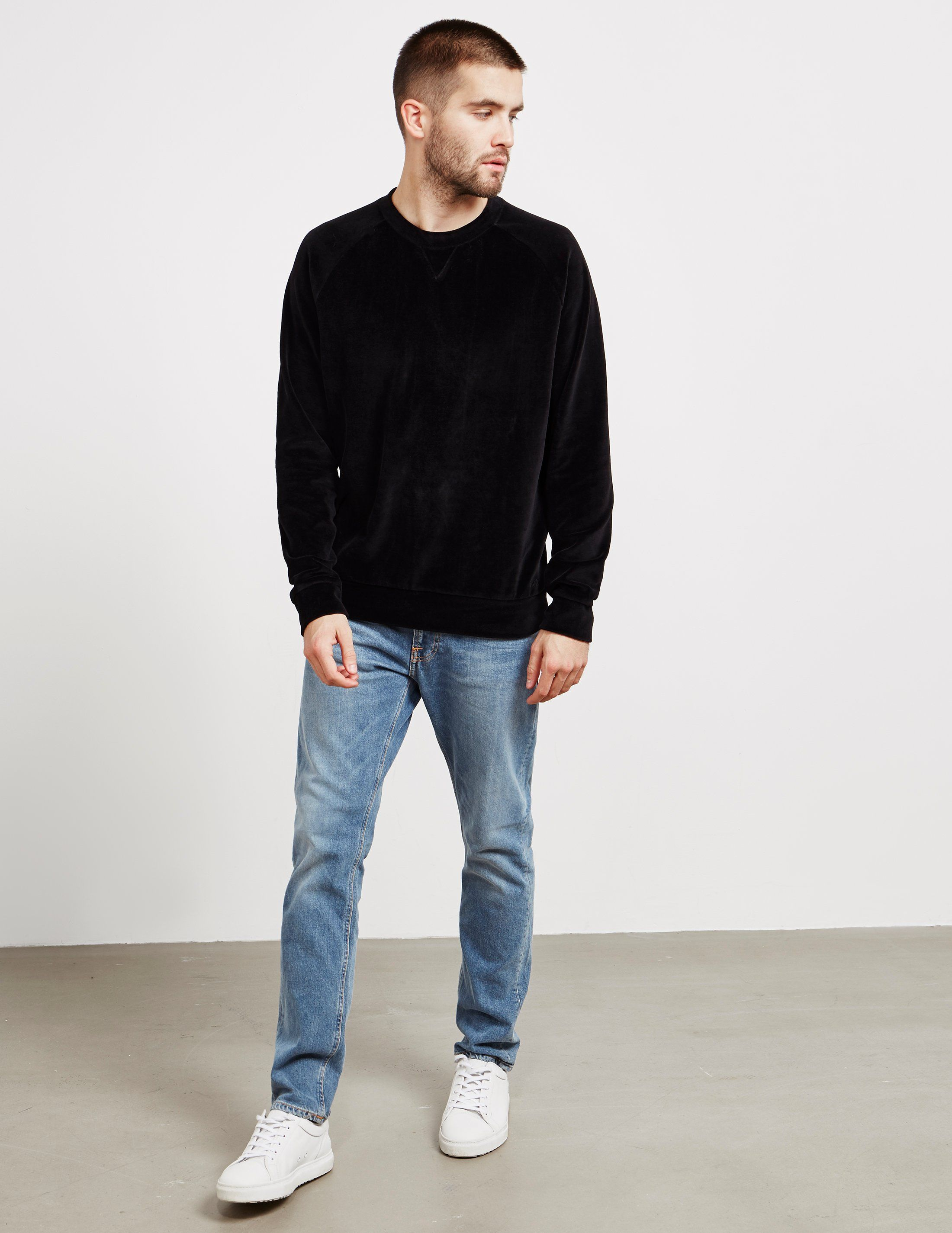 HUGO Velvet Sweatshirt