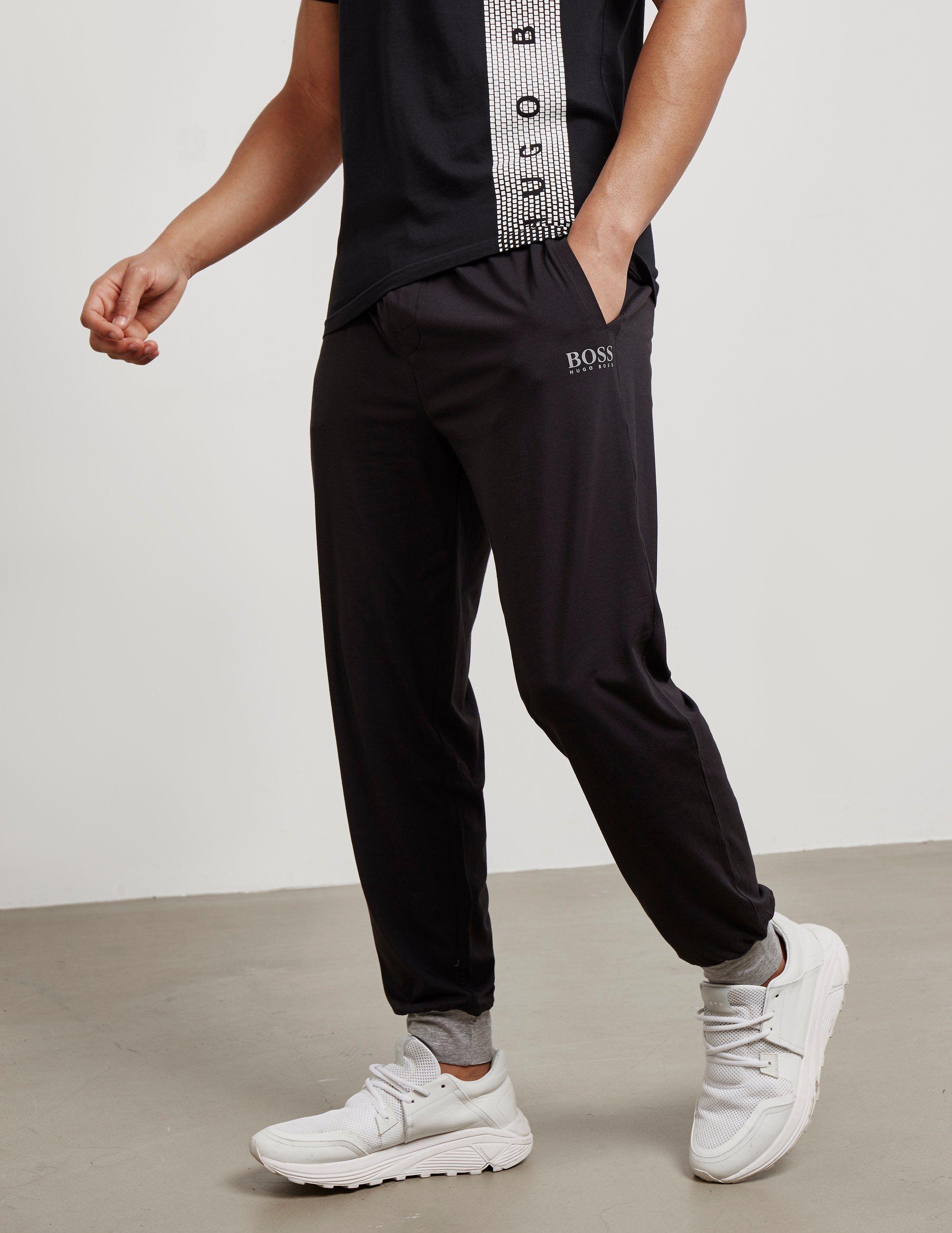 BOSS Night Cuffed Fleece Lounge Pants