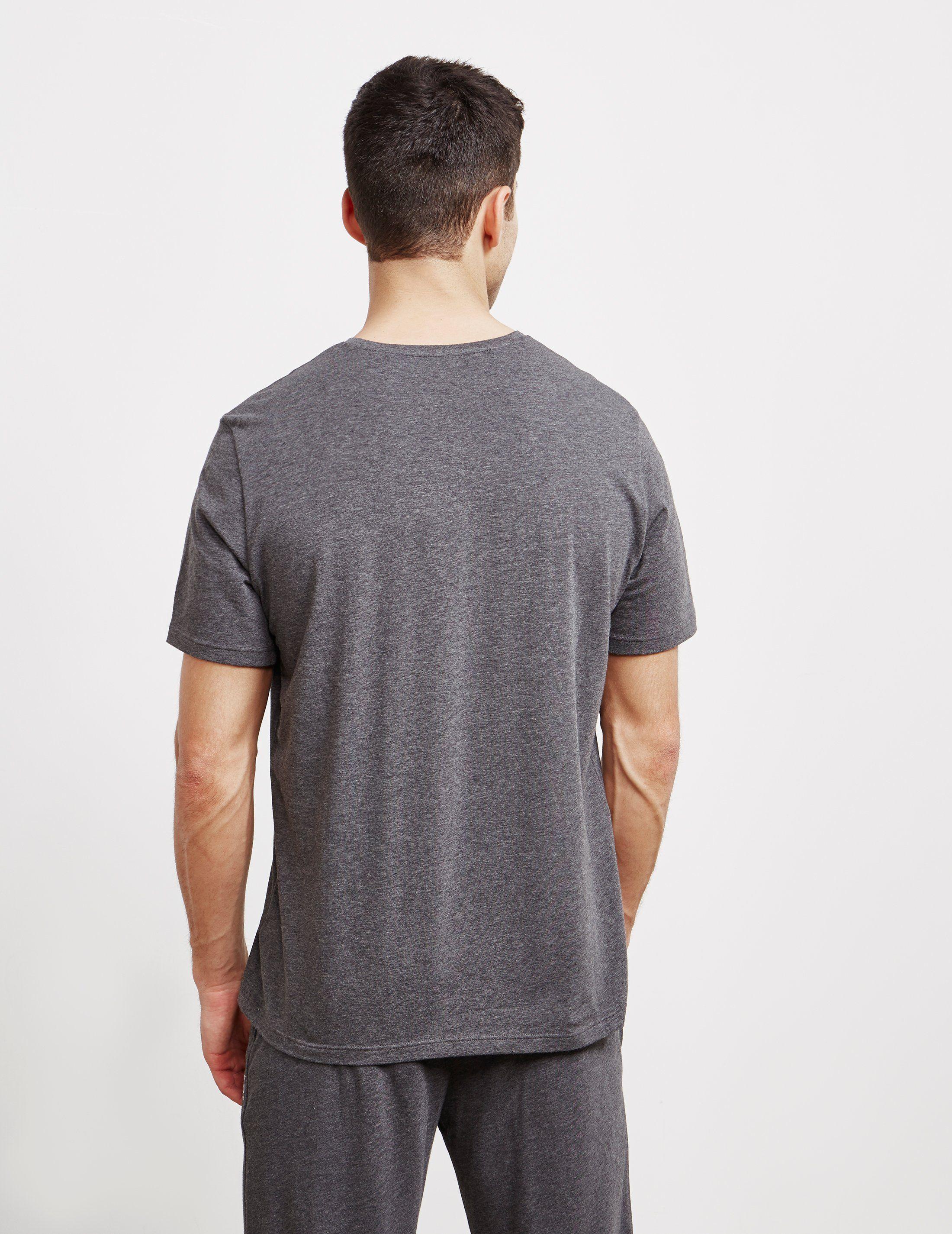 BOSS Flock Outline Short Sleeve T-Shirt