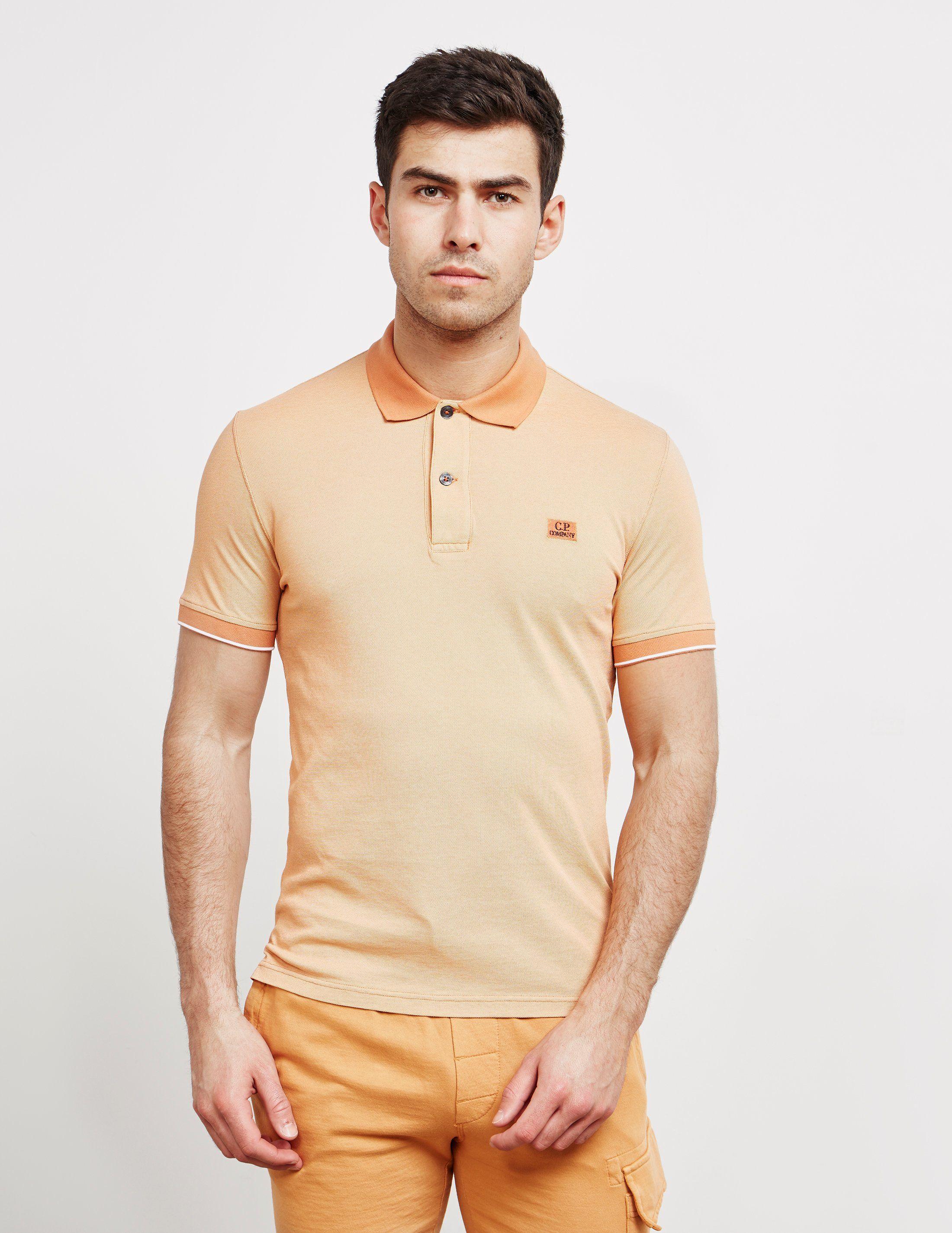 CP Company Tact Short Sleeve Polo Shirt