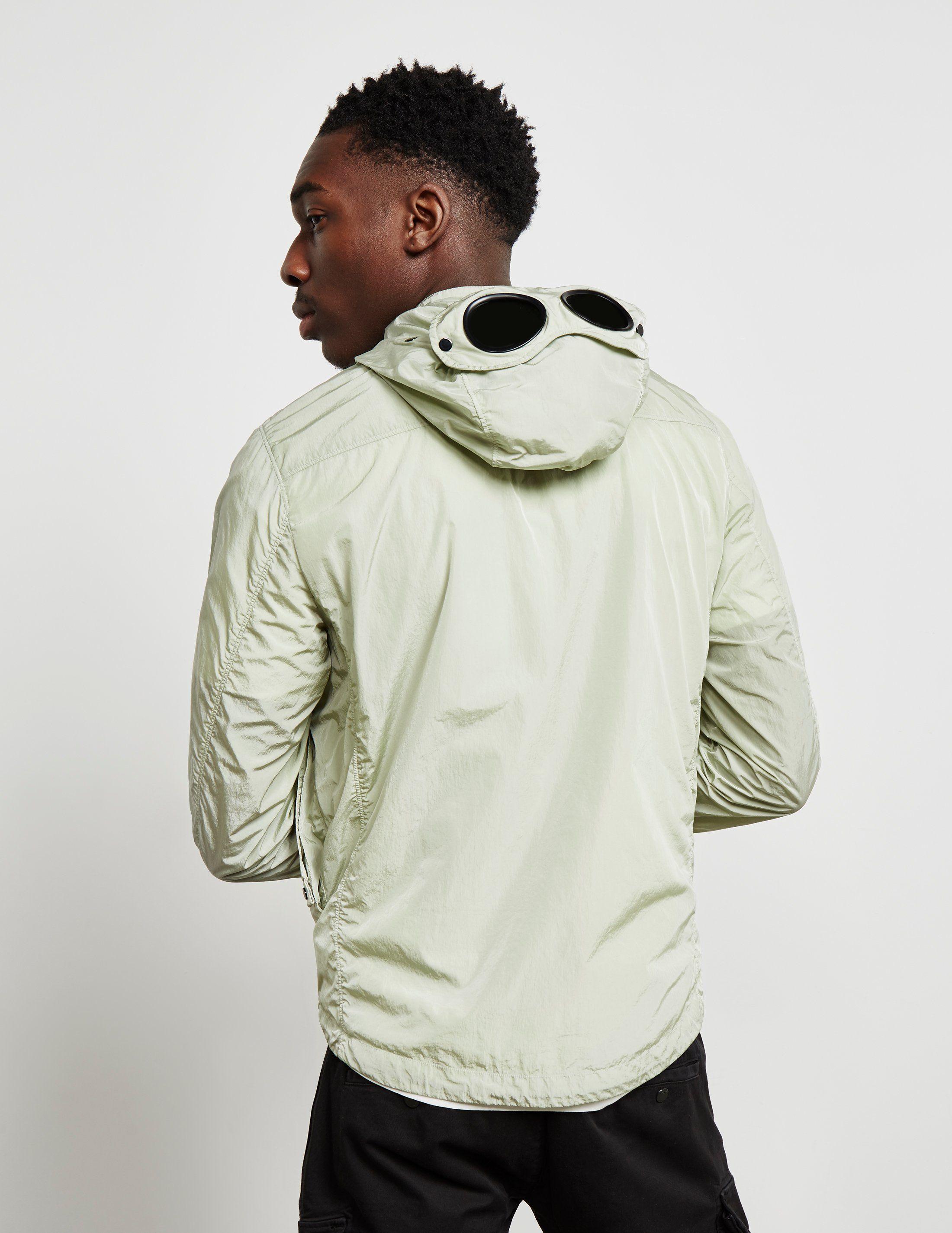 CP Company Chrome Hooded Overshirt