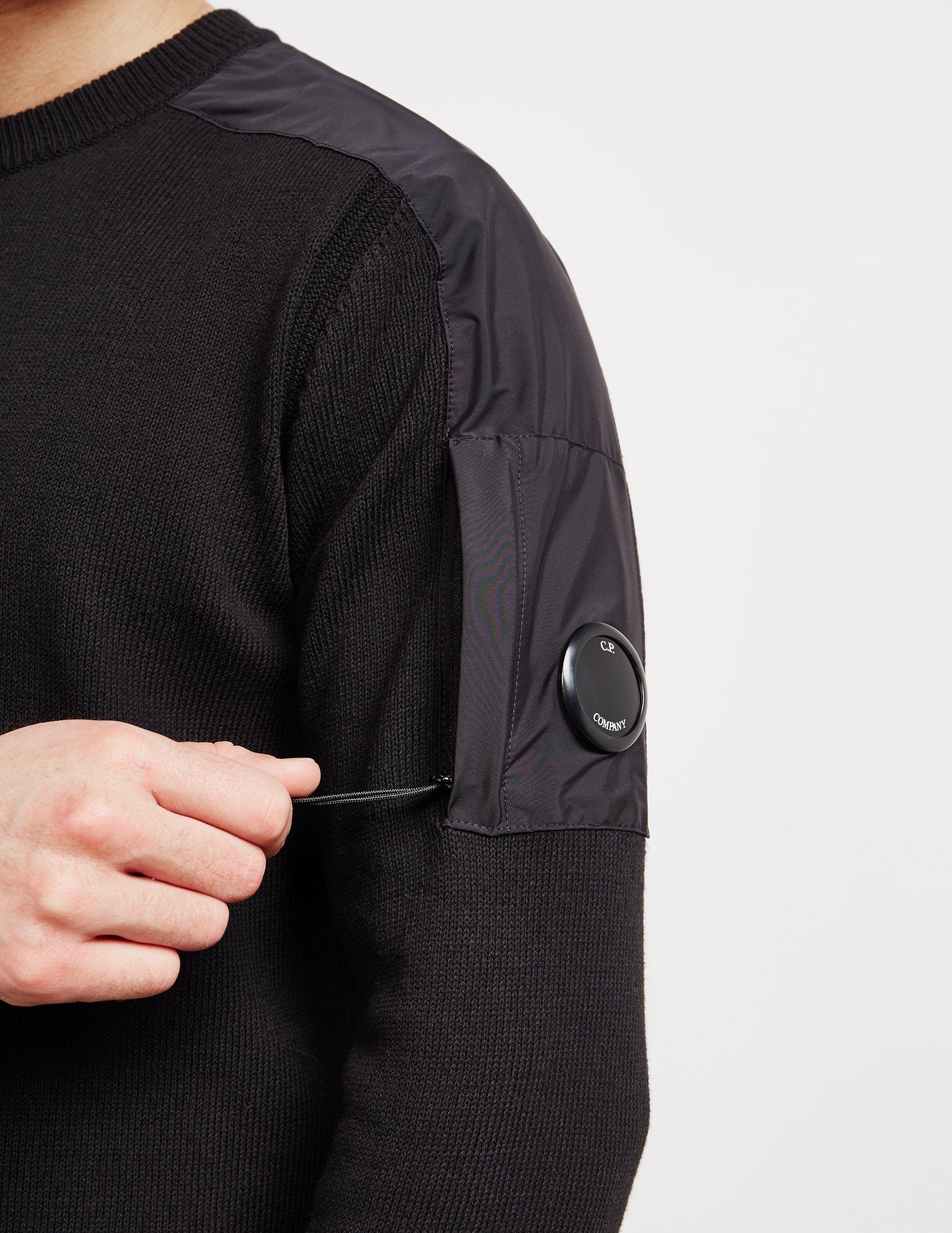 CP Company Lens Knit Jumper