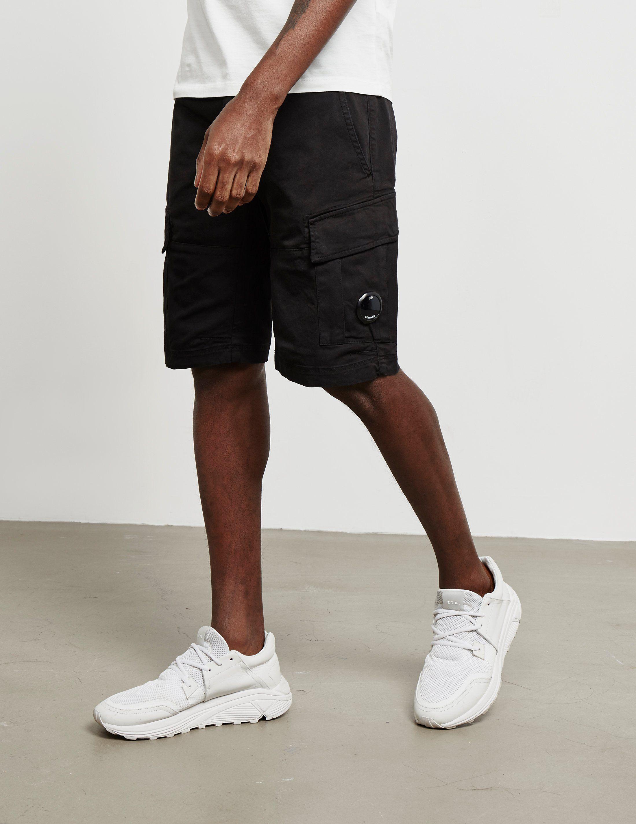 CP Company Bermuda Lens Shorts