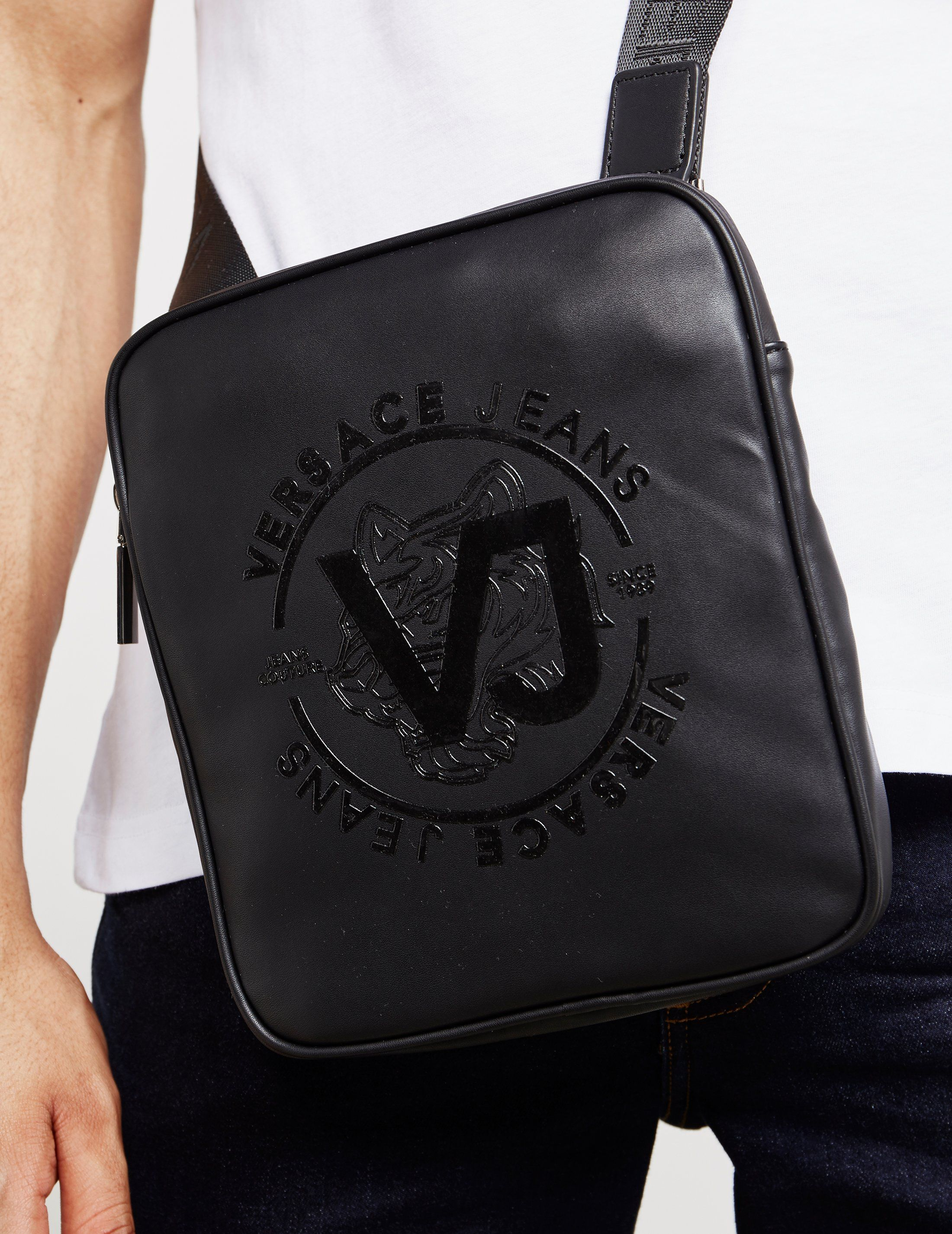 Versace Jeans Tiger Print Small Item Bag