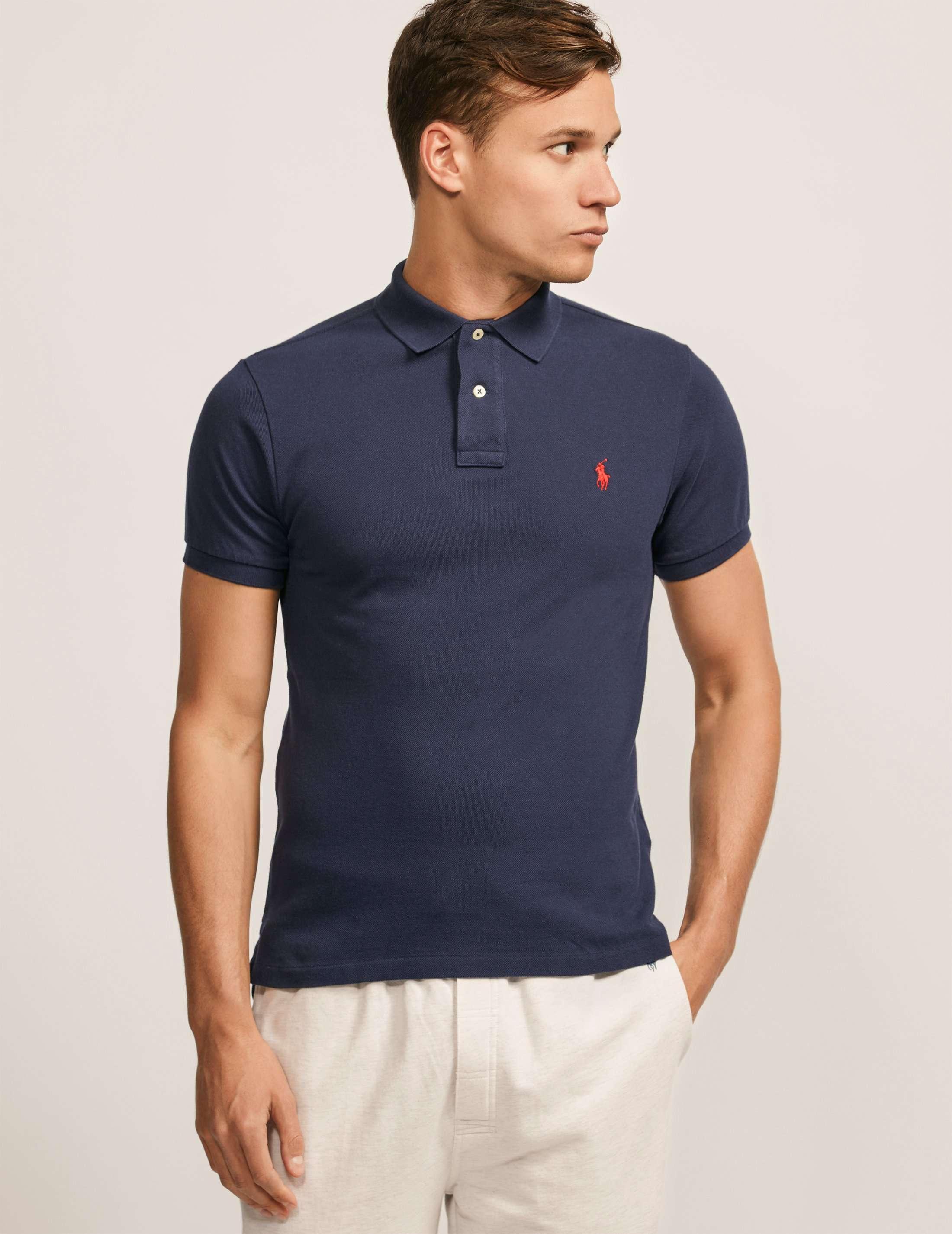 Womens Black Ralph Lauren Polo Shirt