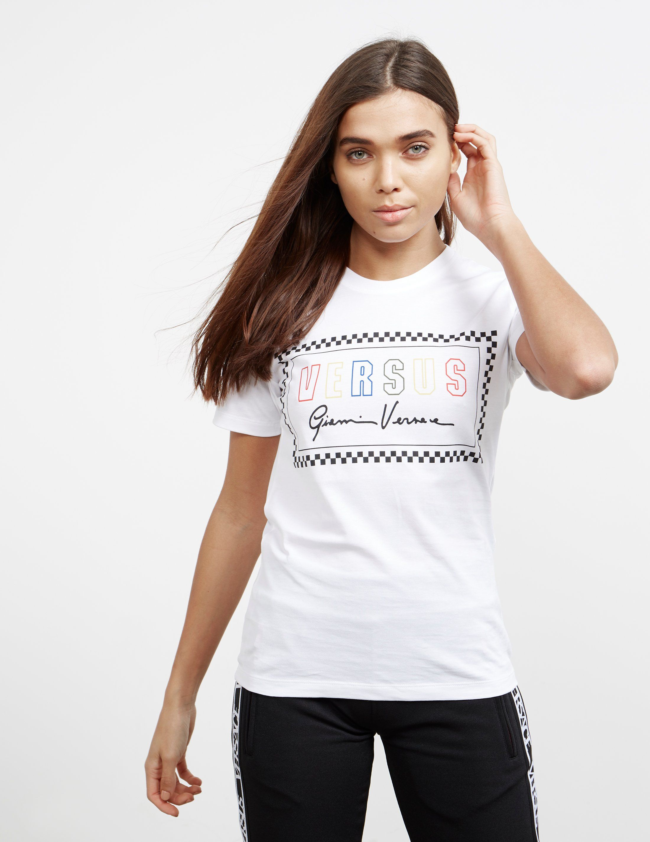 Versus Versace Signature Short Sleeve T-Shirt