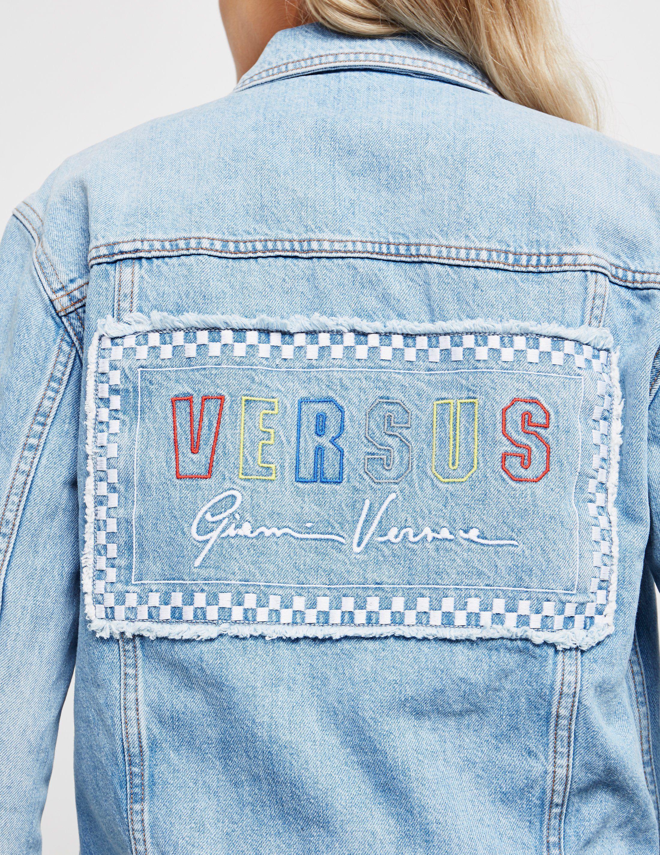 Versus Versace Gianni Denim Jacket