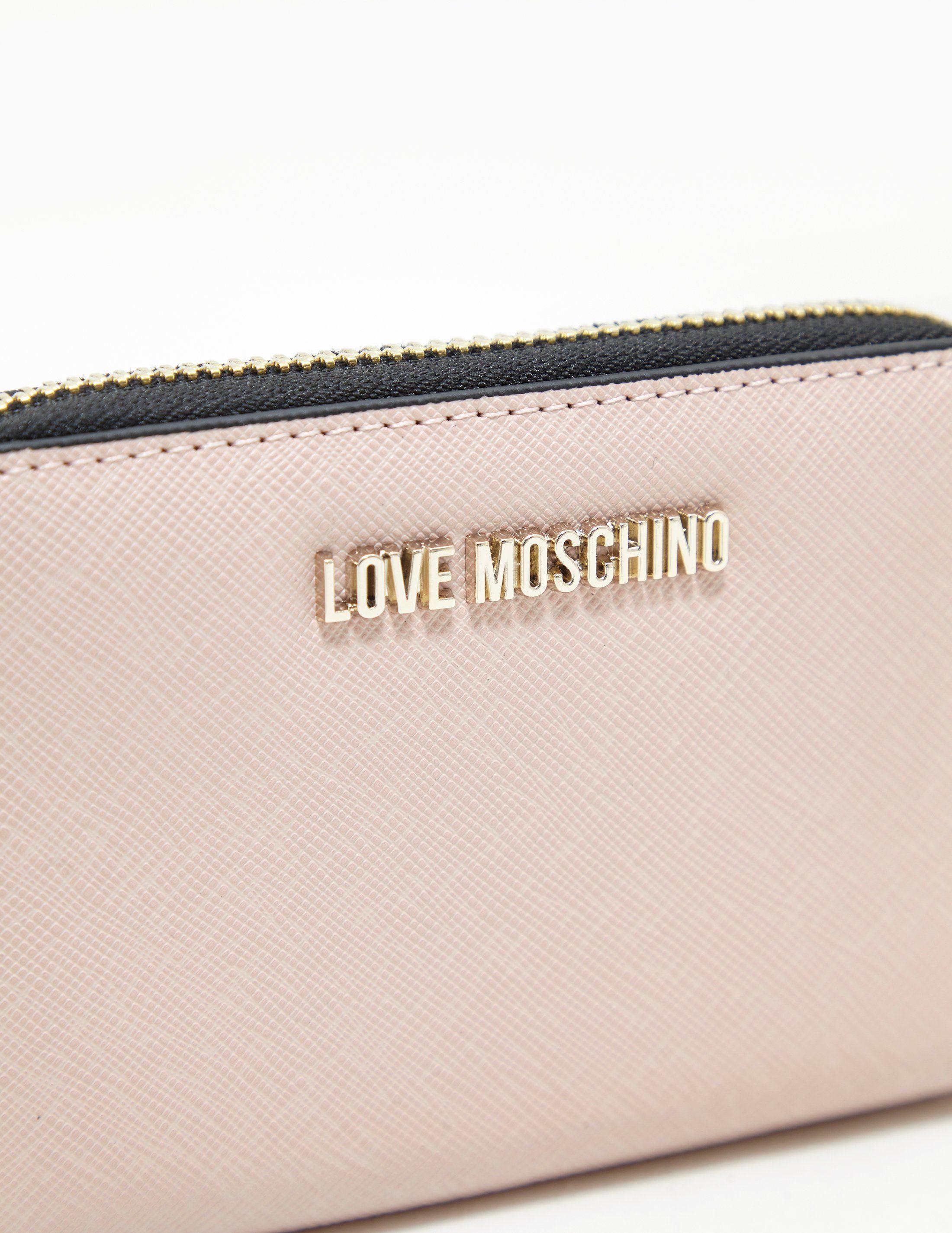 Love Moschino Small Zip Purse