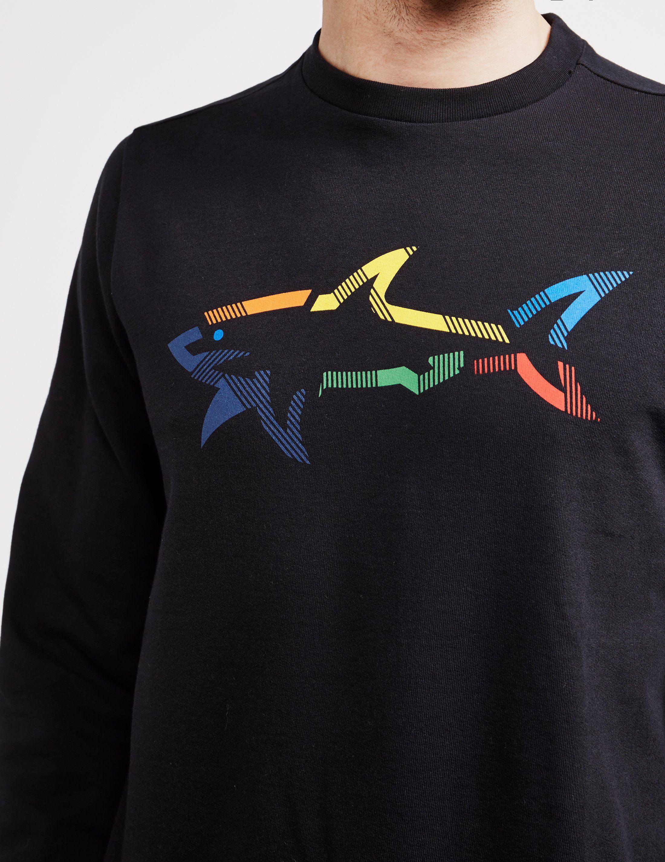 Paul and Shark Multi Colour Shark Sweatshirt