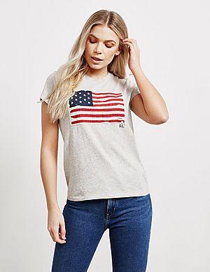 Polo Ralph Lauren Flag Short Sleeve T-Shirt ... 44433a5da2