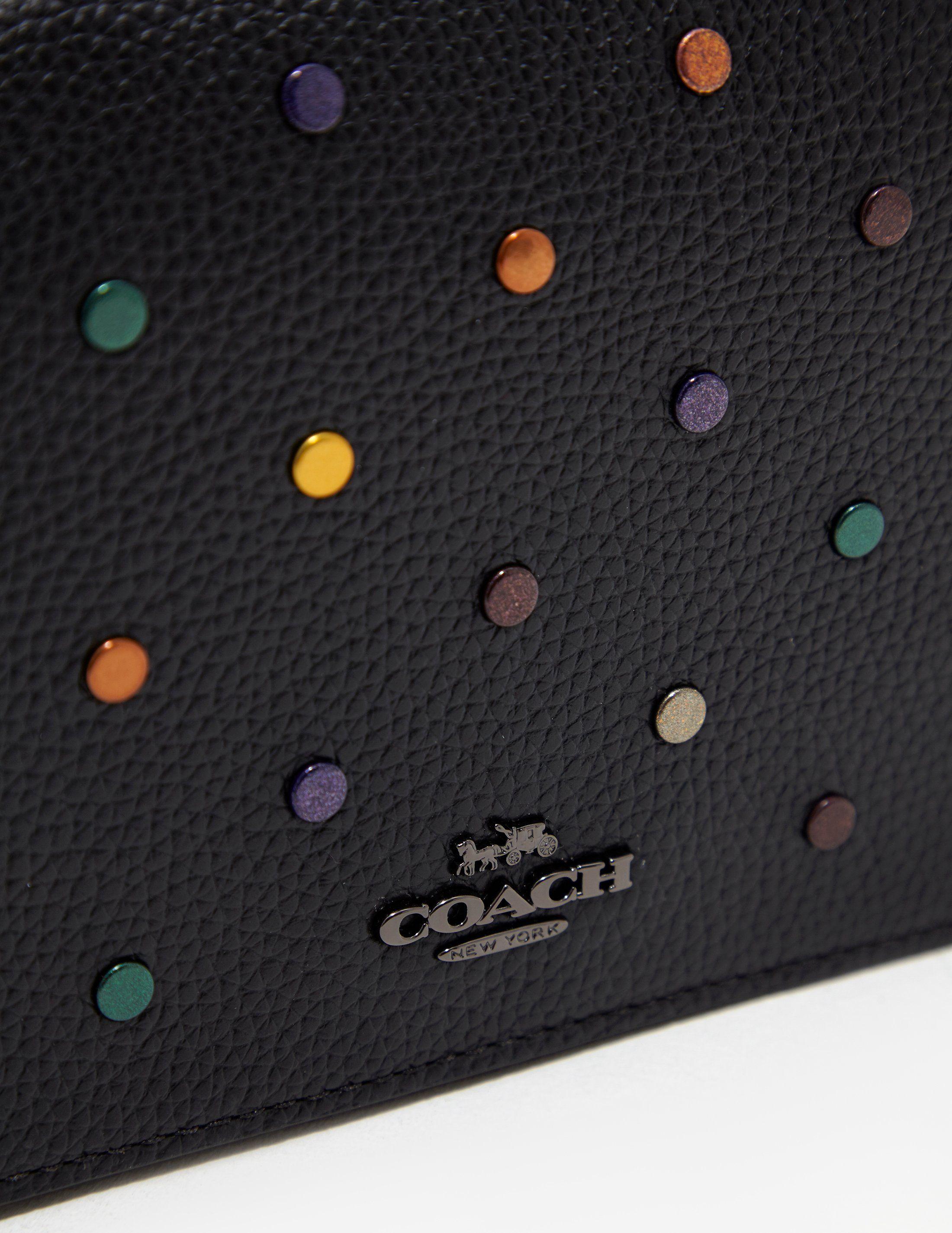COACH Rivet Clutch Bag