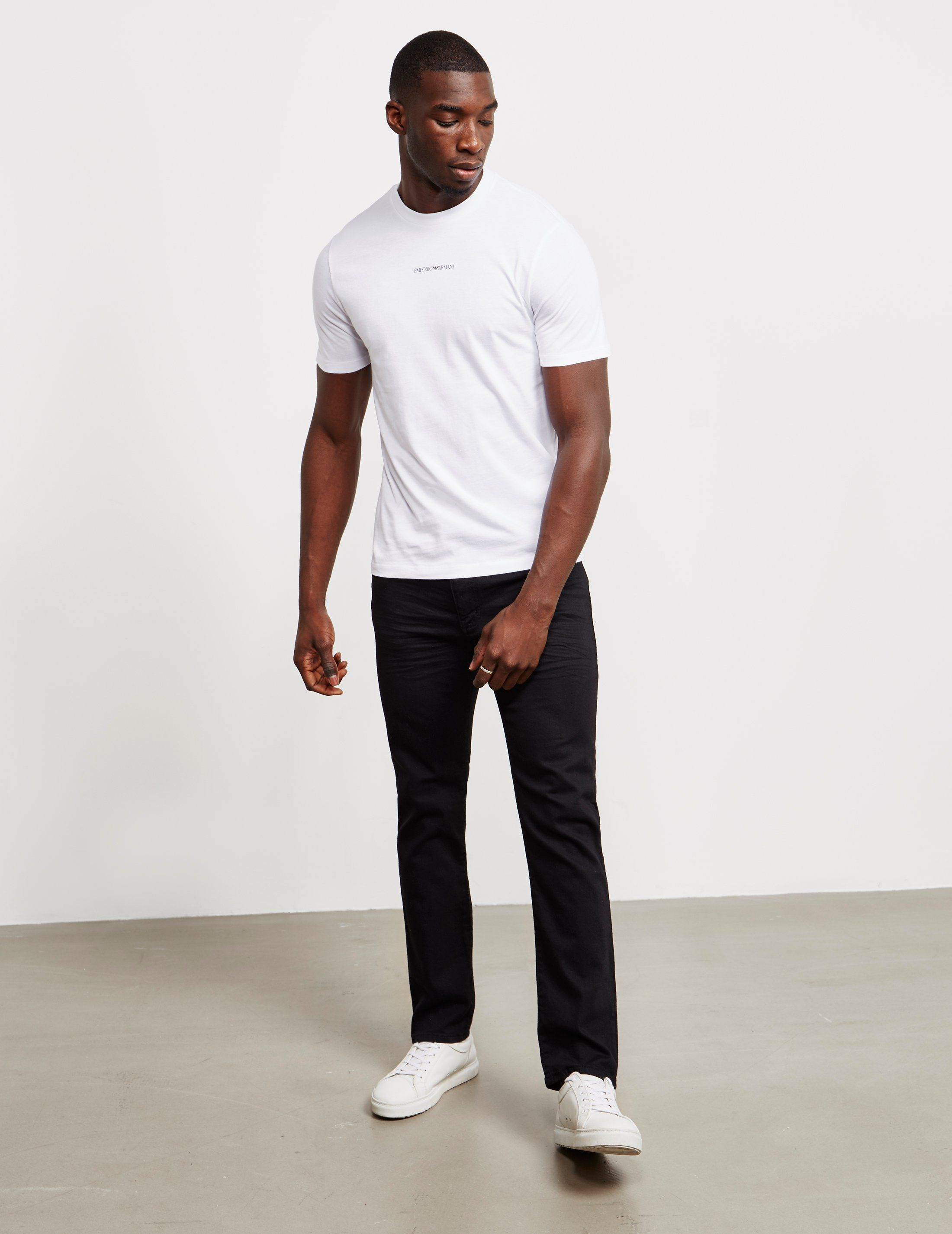 Emporio Armani Regular Crinkle Jeans