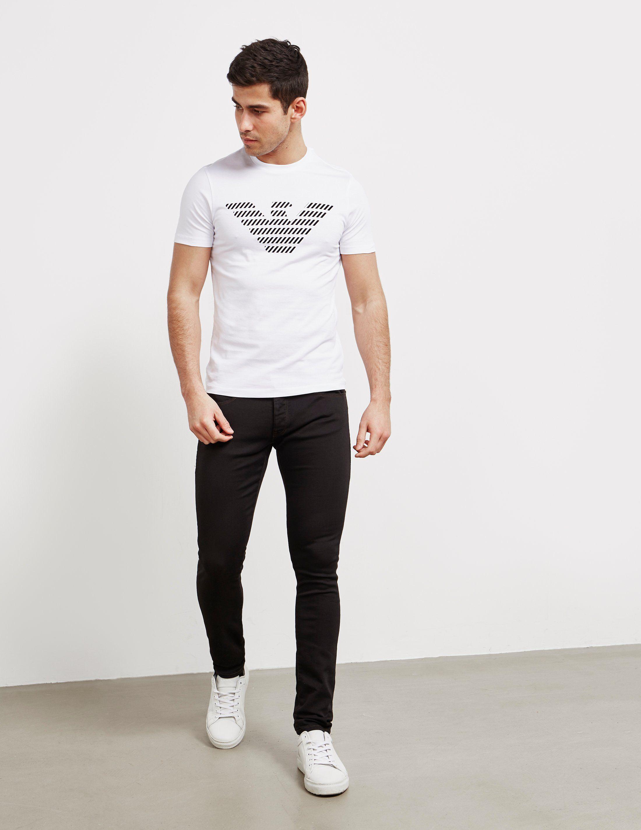 Emporio Armani Skinny Weft Jeans