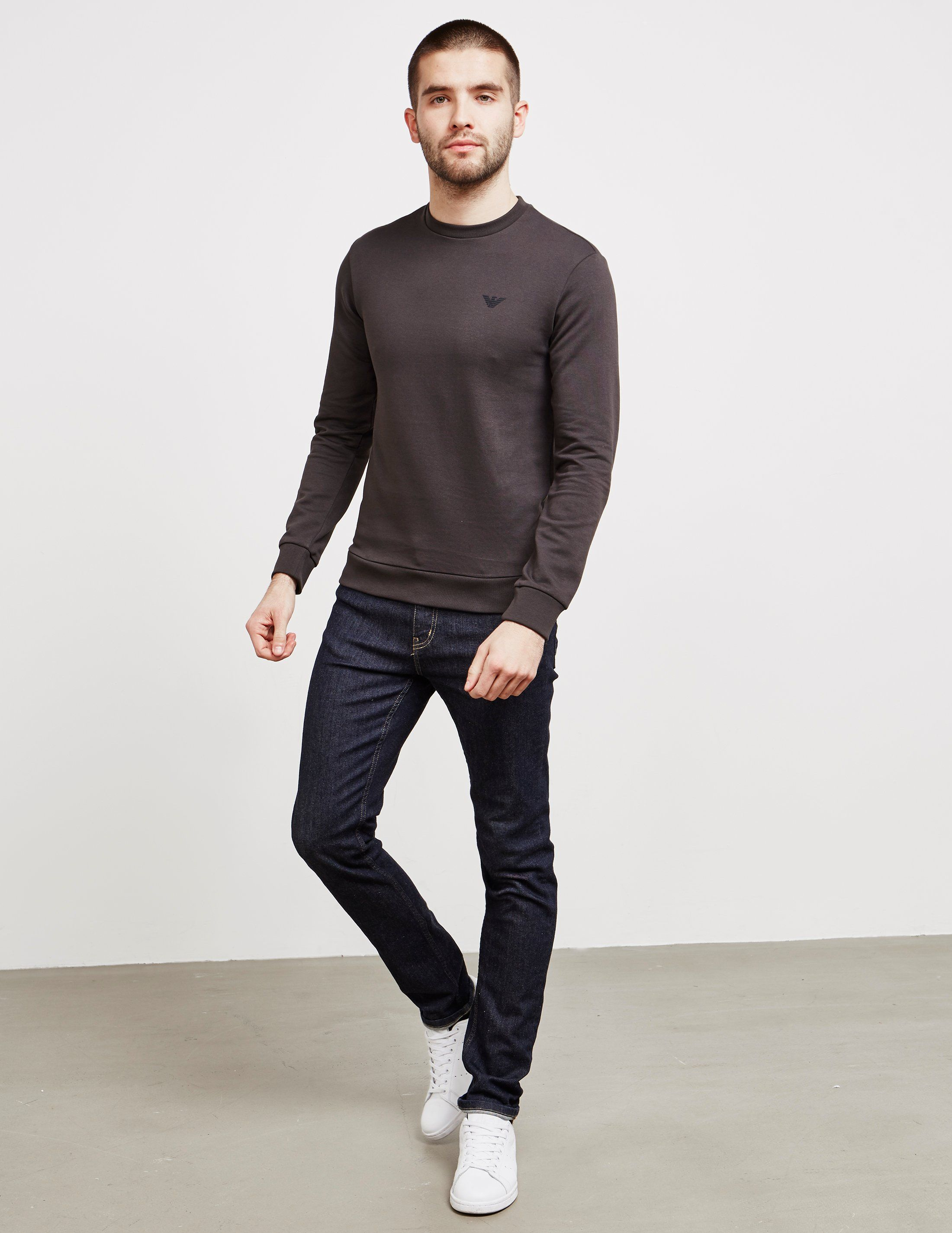 Emporio Armani Basic Crew Sweatshirt