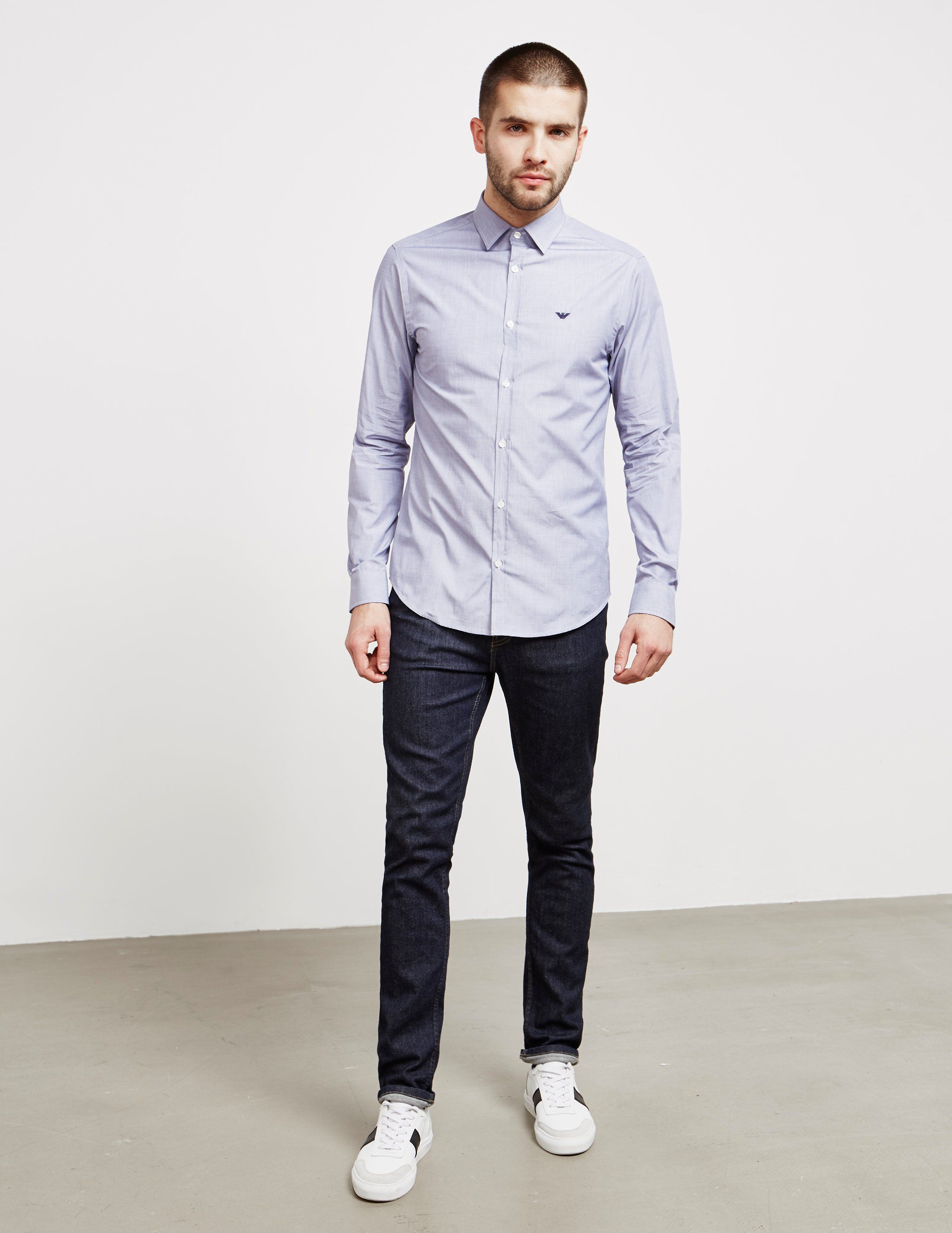 Emporio Armani Oxford Long Sleeve Shirt