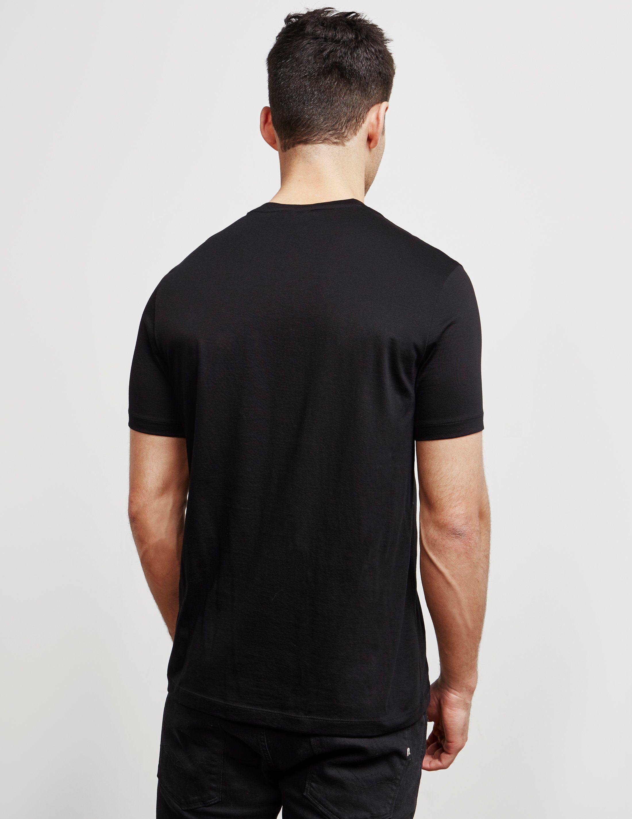 Emporio Armani Milan Logo Short Sleeve T-Shirt