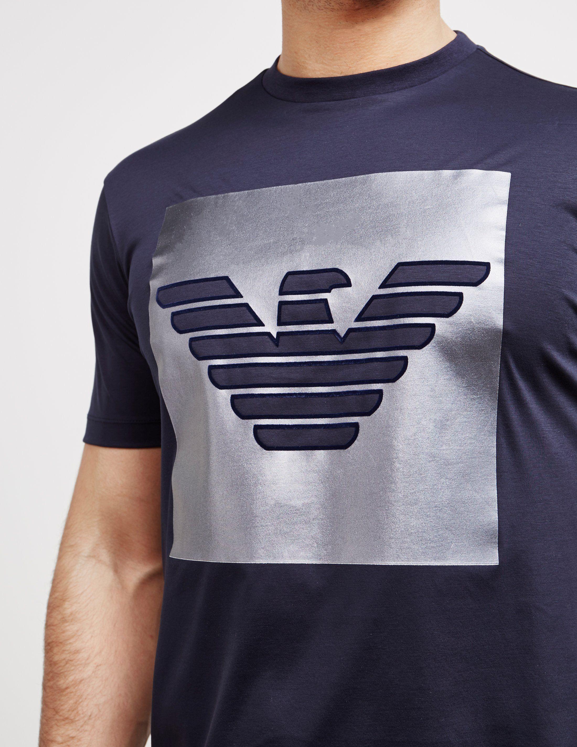 Emporio Armani Shine Logo Short Sleeve T-Shirt