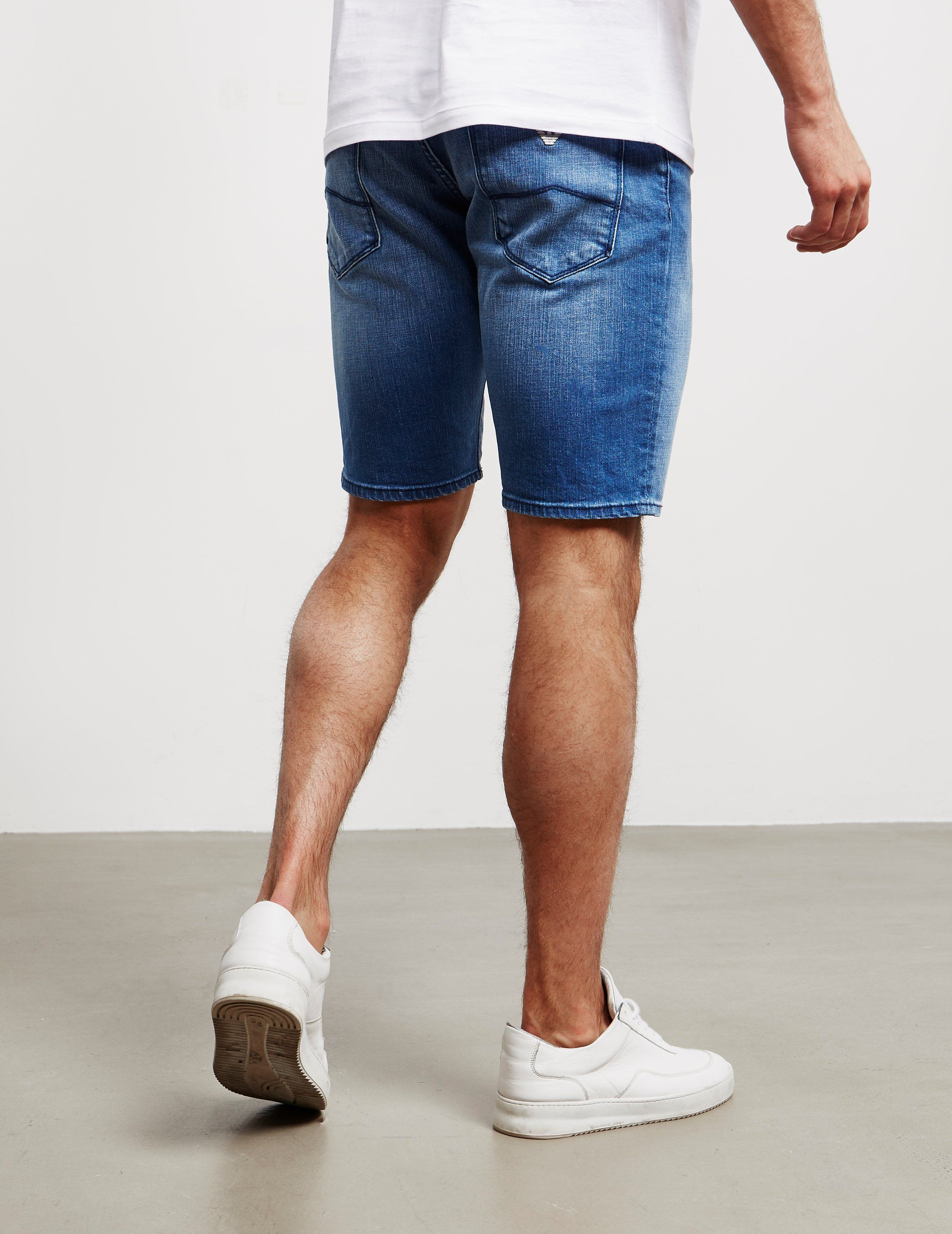 Emporio Armani 5 Pocket Denim Shorts - Online Exclusive
